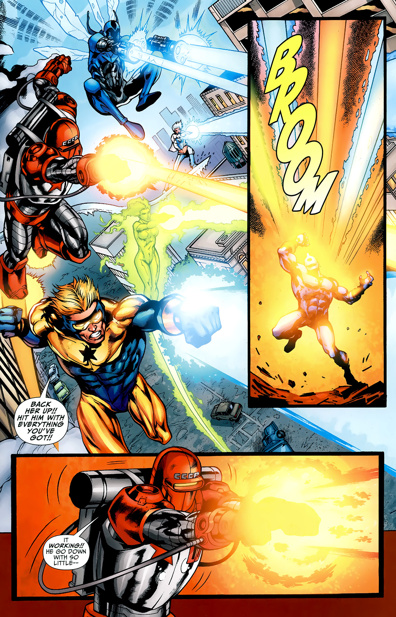 Read online Justice League: Generation Lost comic -  Issue #23 - 16
