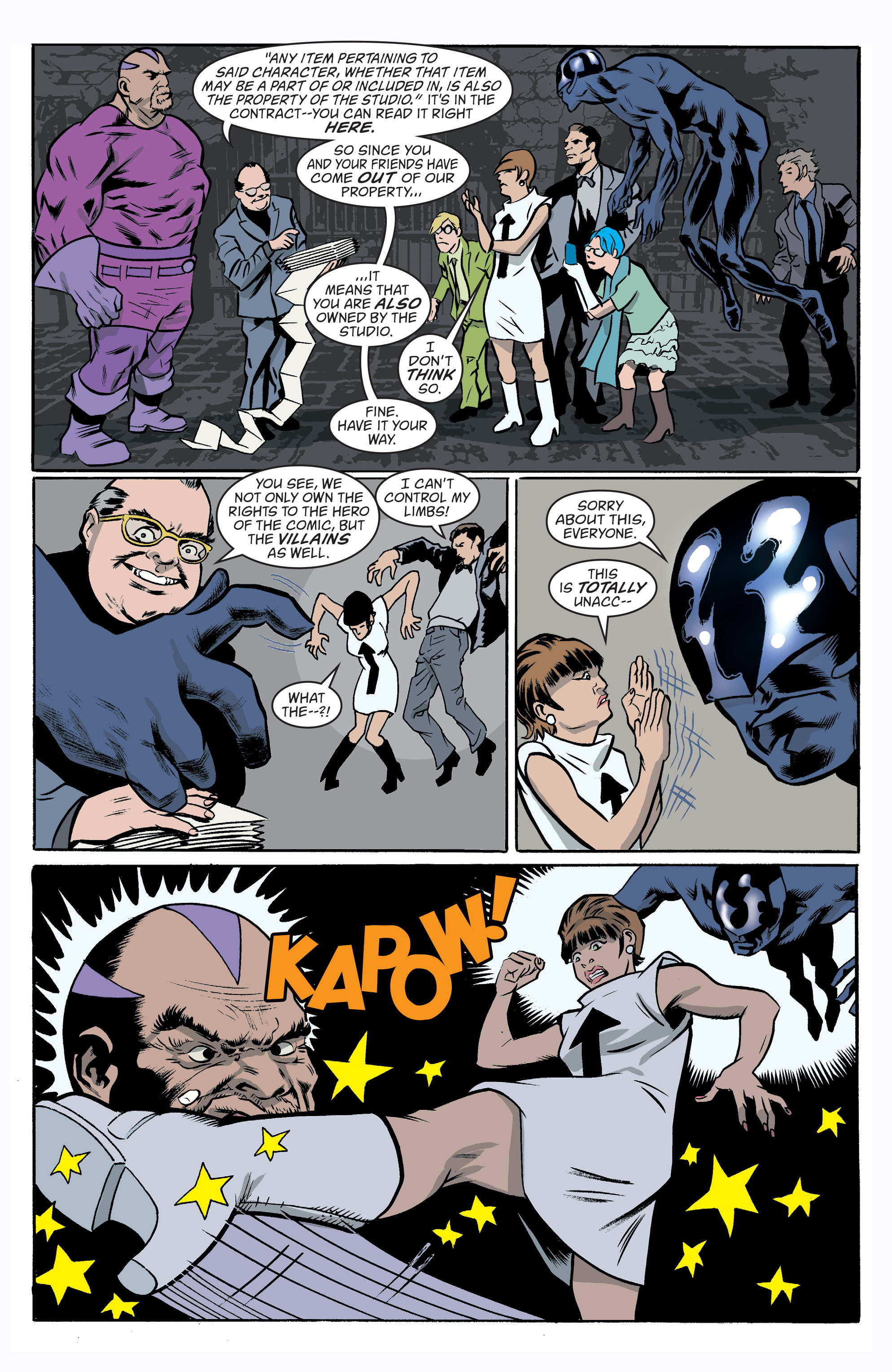 Read online Art Ops comic -  Issue #10 - 10