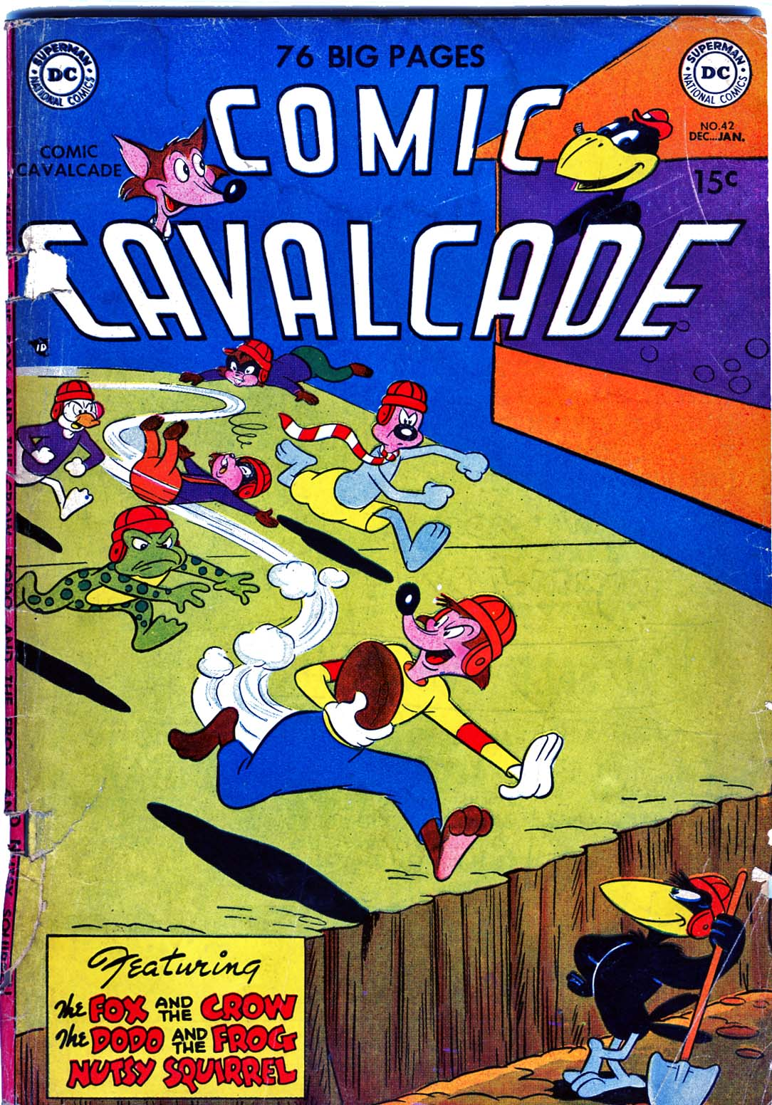 Comic Cavalcade 42 Page 1