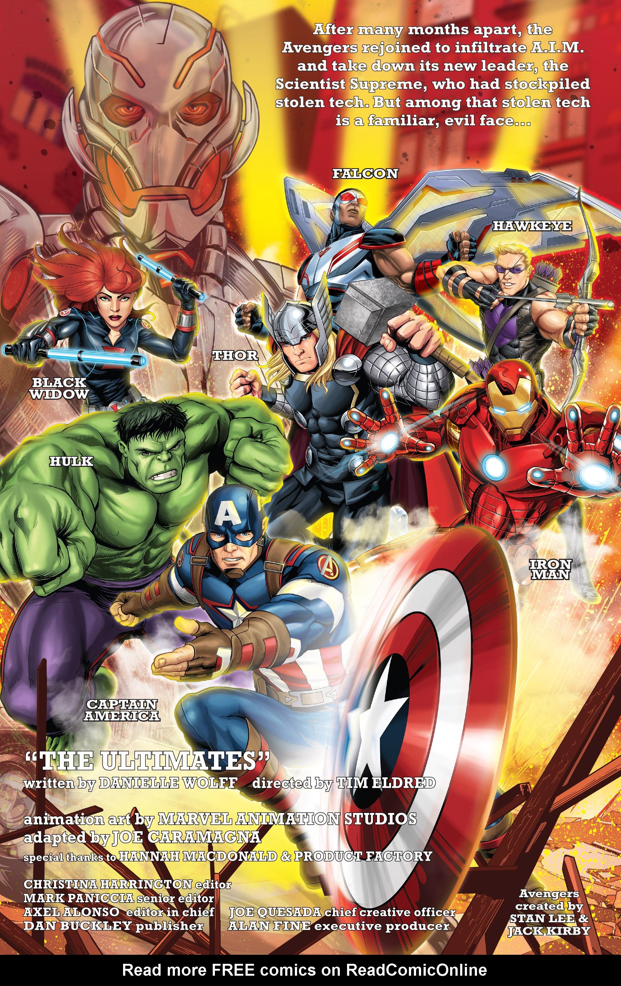 Read online Marvel Universe Avengers: Ultron Revolution comic -  Issue #2 - 2
