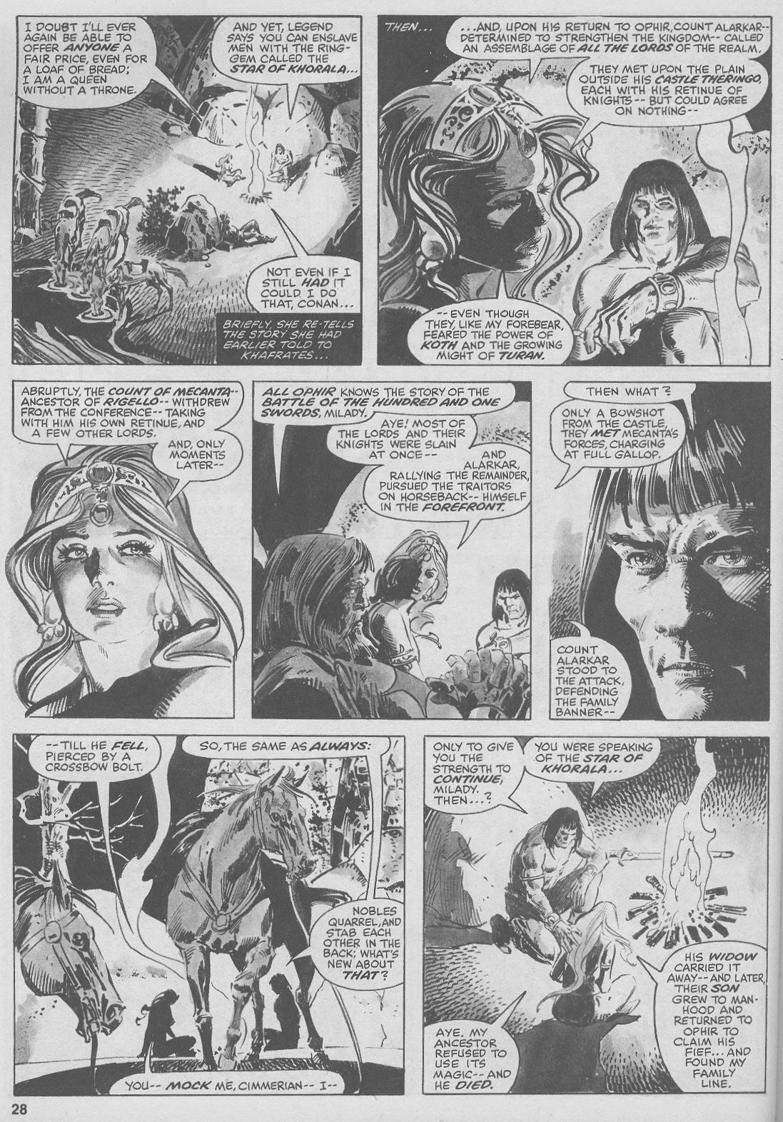 The Savage Sword Of Conan Issue #44 #45 - English 28