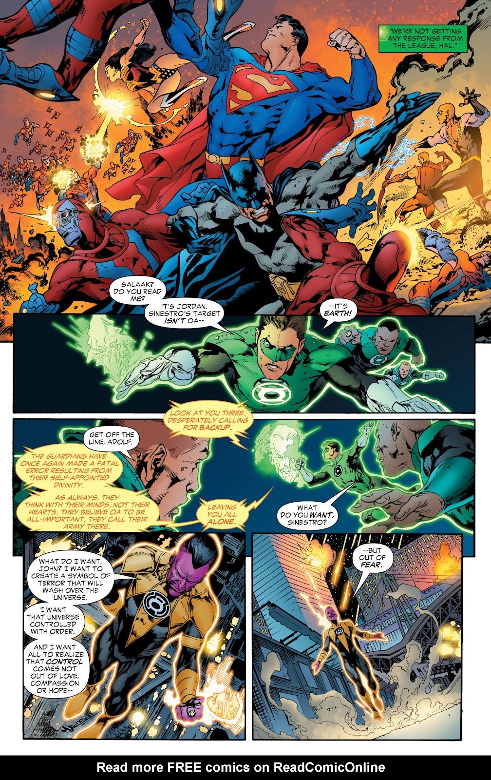 Green Lantern: The Sinestro Corps War Full #1 - English 185