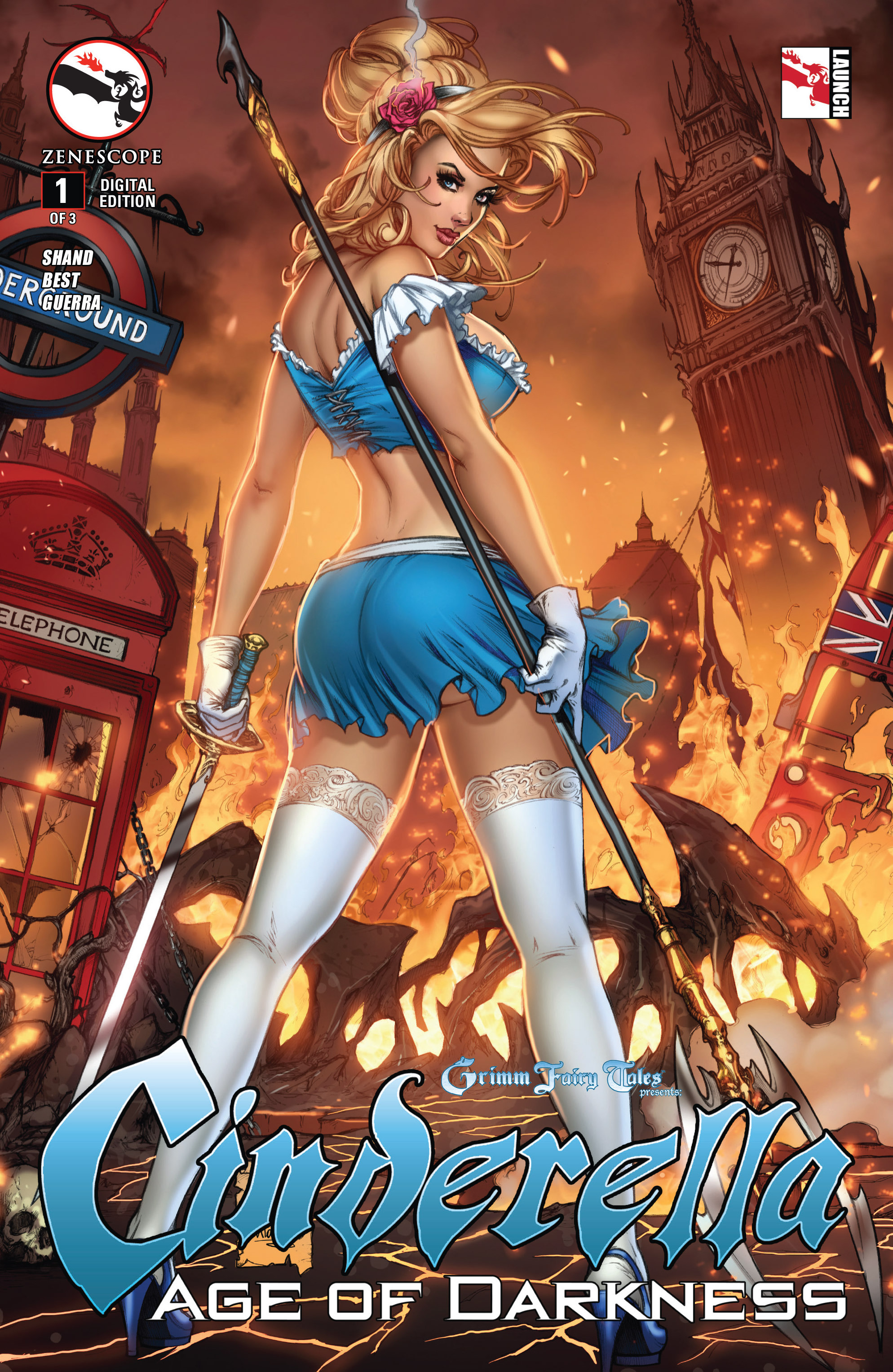 Read online Grimm Fairy Tales presents Cinderella: Age of Darkness comic -  Issue #1 - 1