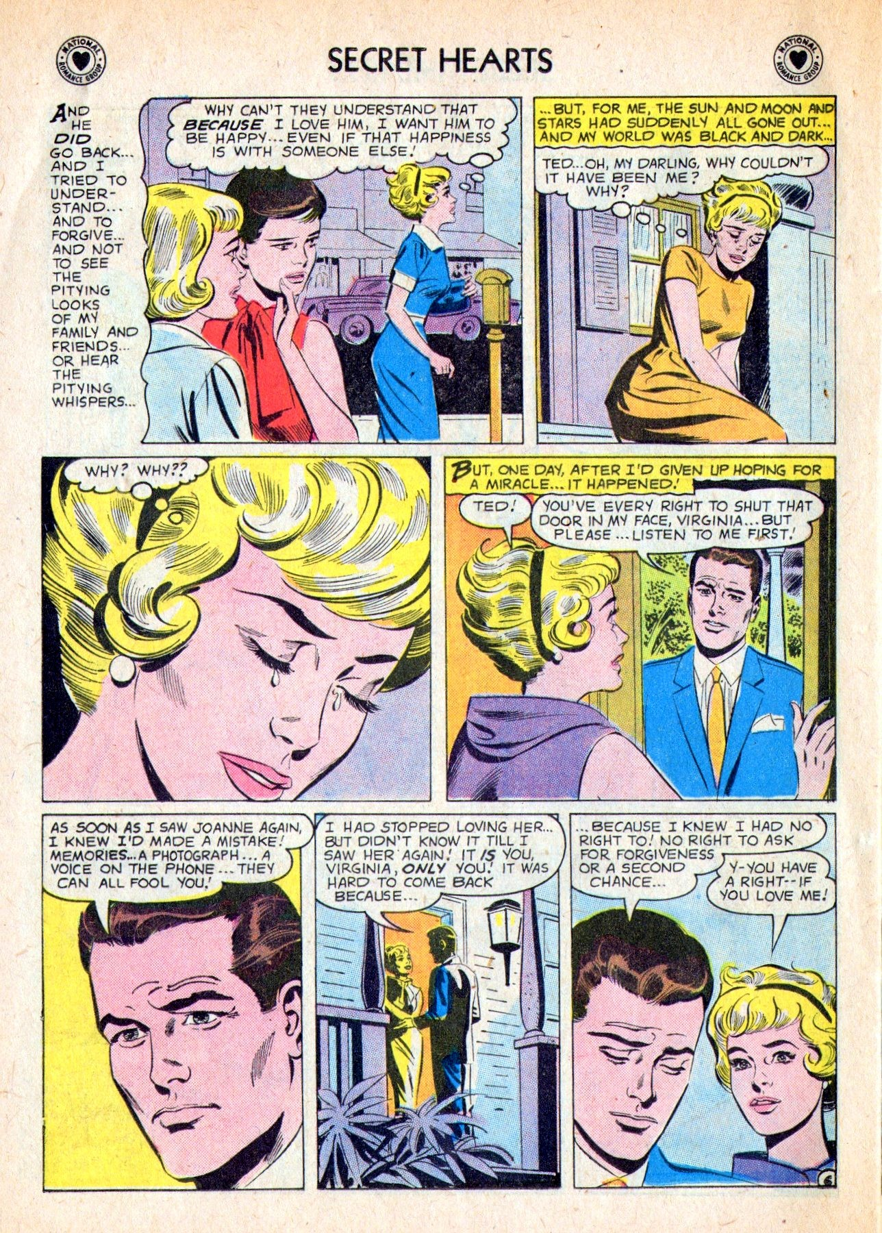 Read online Secret Hearts comic -  Issue #53 - 24