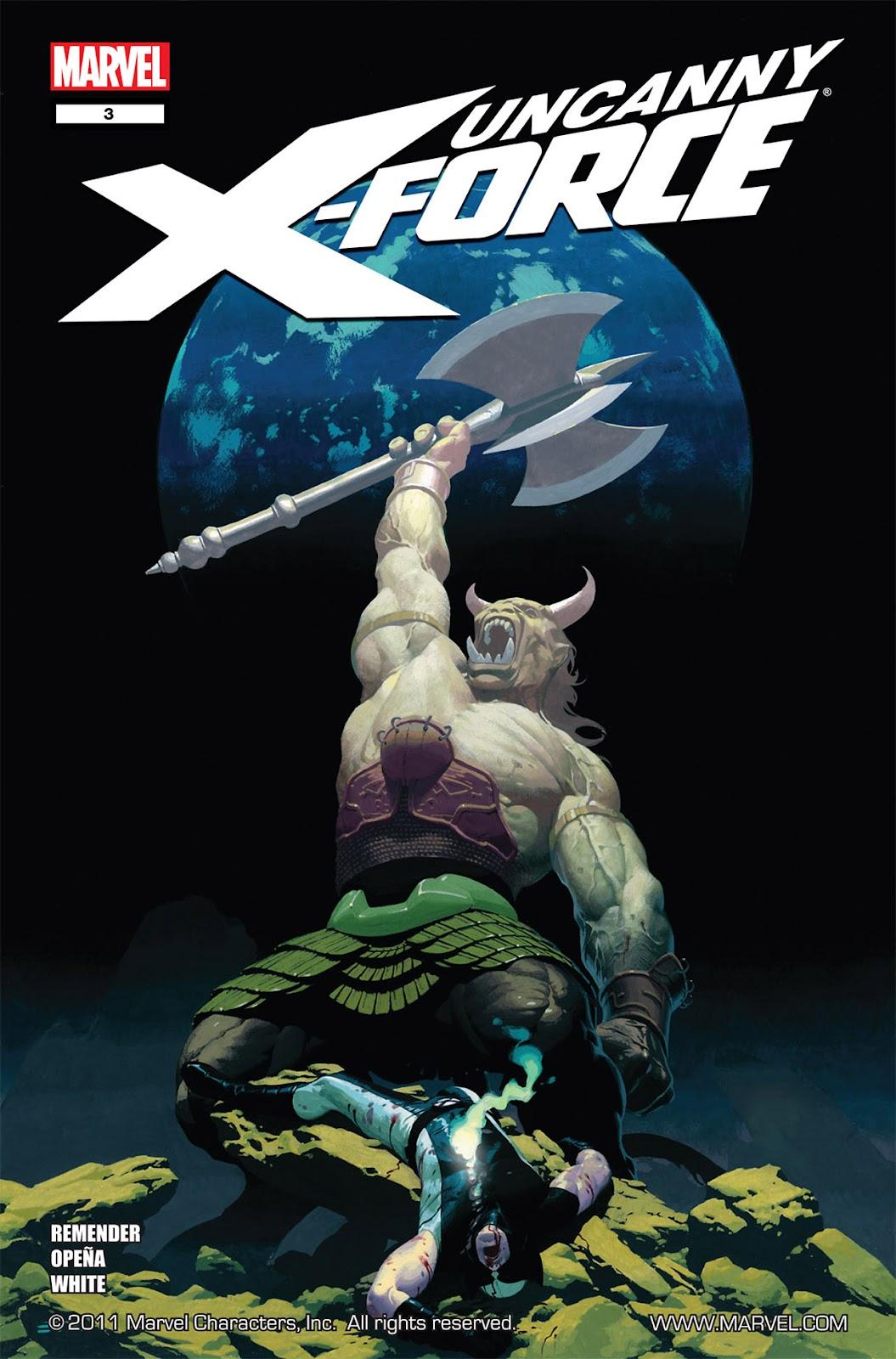Uncanny X-Force (2010) Issue #3 #3 - English 1