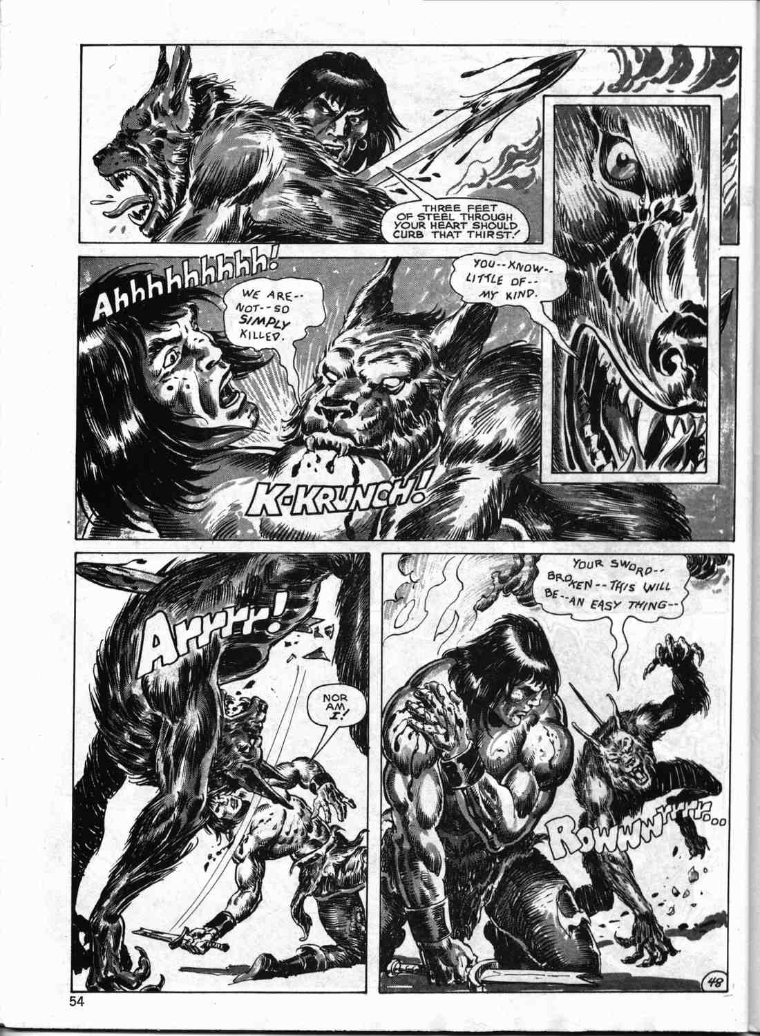 The Savage Sword Of Conan Issue #133 #134 - English 53