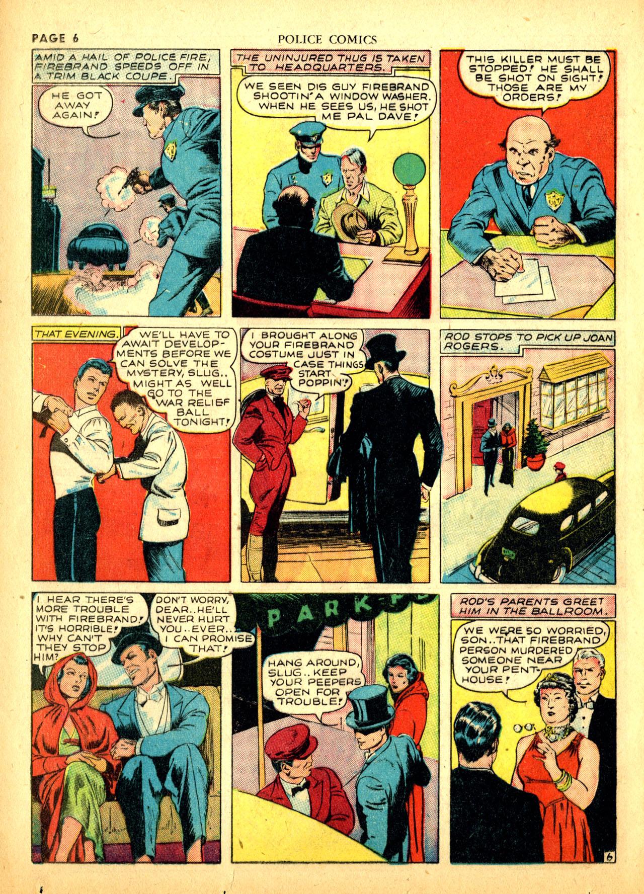 Police Comics #1 #127 - English 9