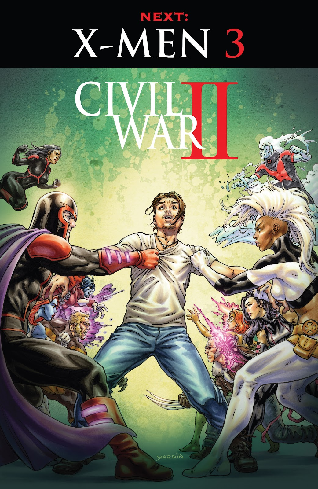 Civil War II: X-Men Issue #2 #2 - English 22