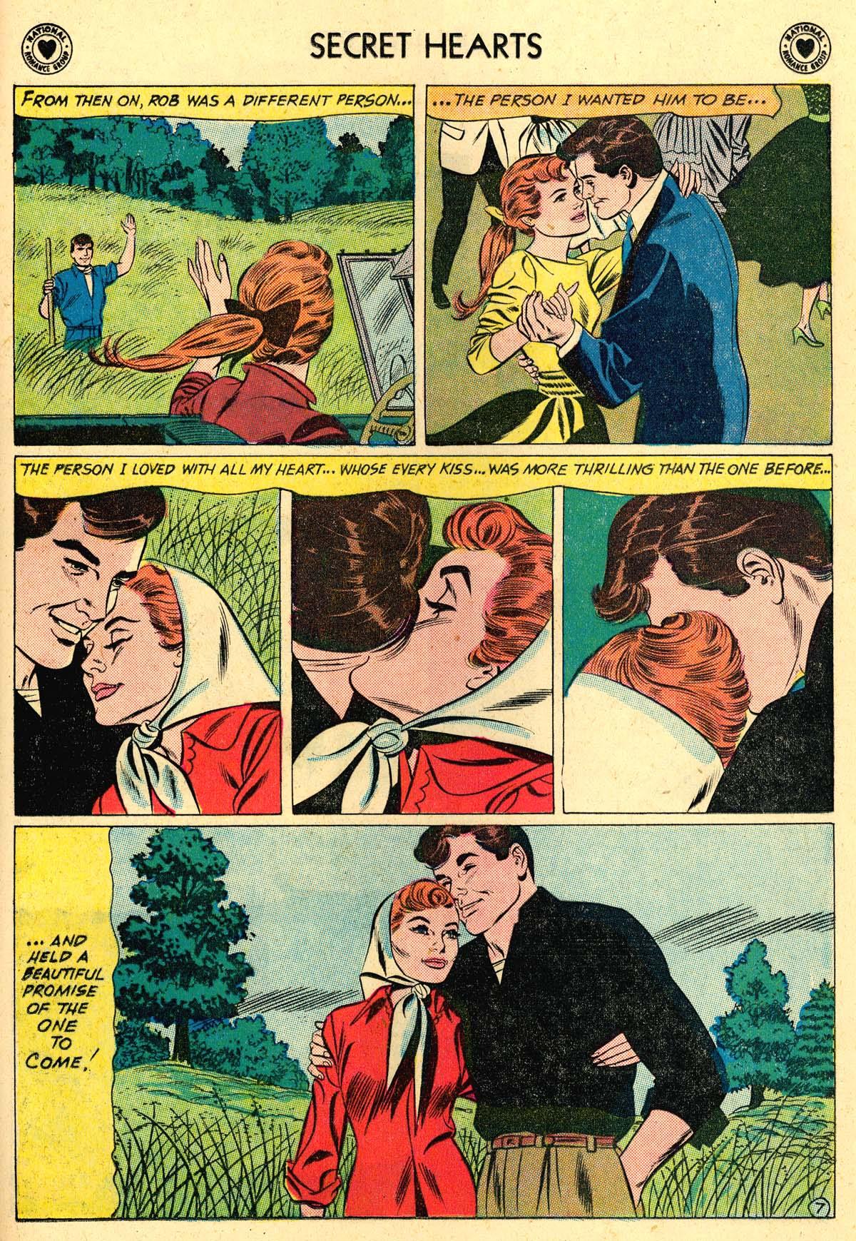 Read online Secret Hearts comic -  Issue #62 - 33