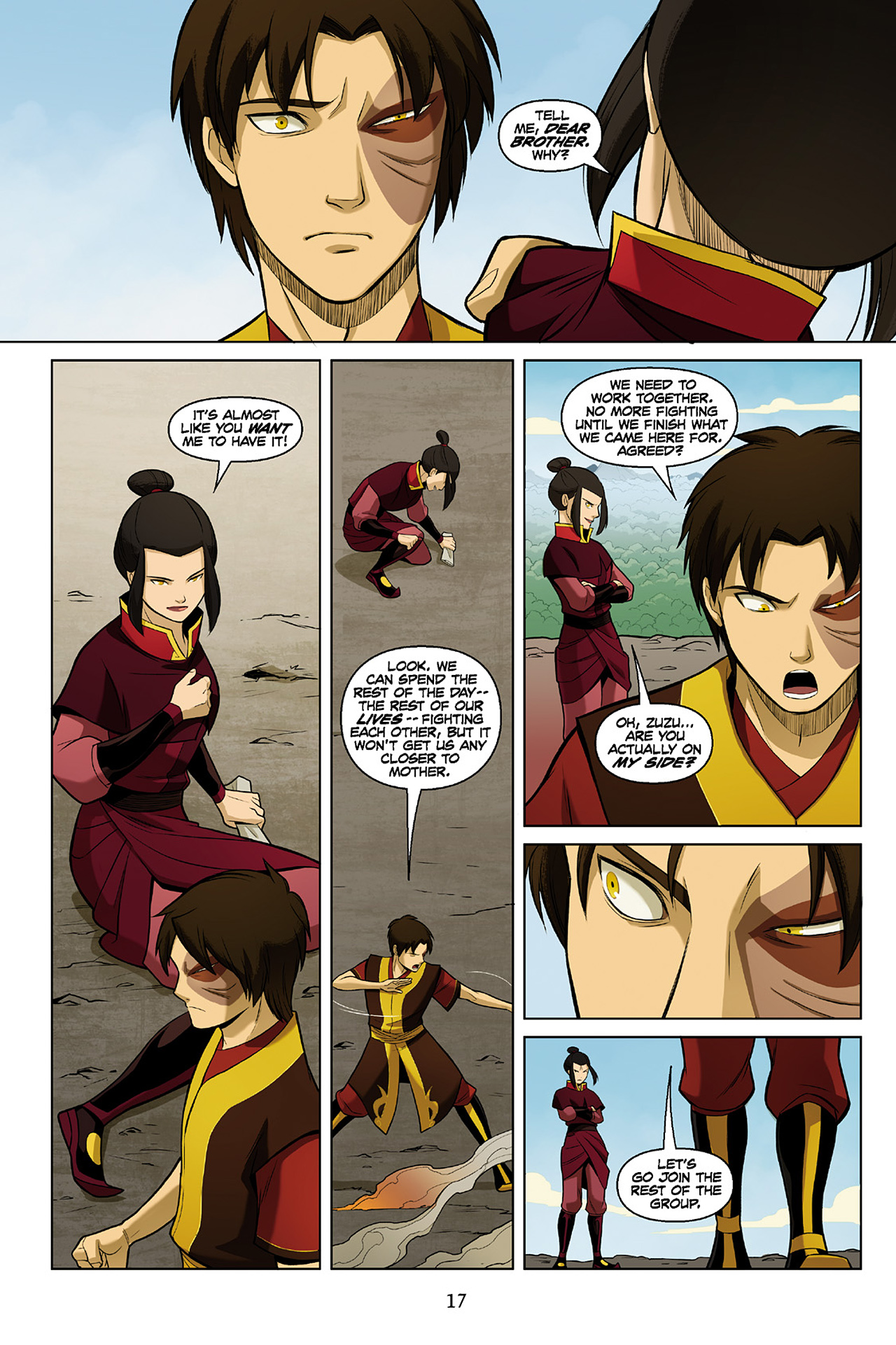 Read online Nickelodeon Avatar: The Last Airbender - The Search comic -  Issue # Part 2 - 18