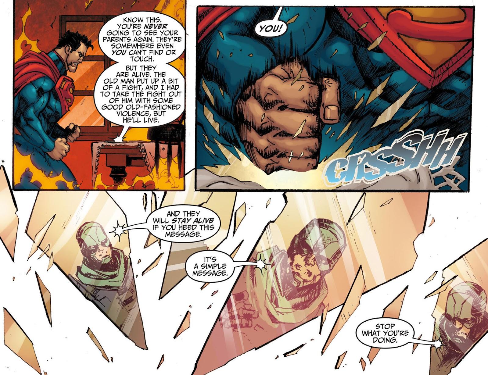Injustice: Gods Among Us [I] Issue #7 #8 - English 21
