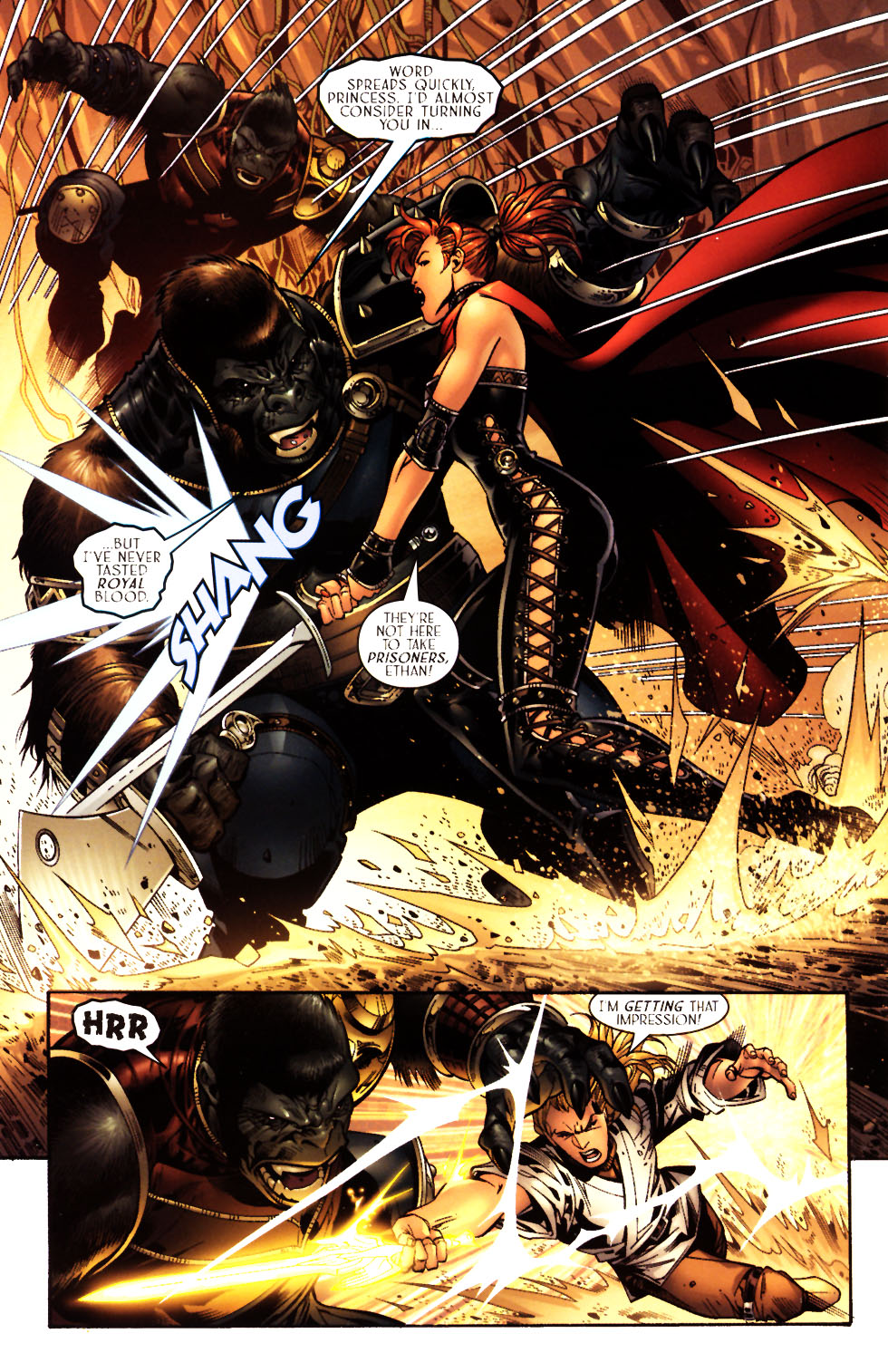 Read online Scion comic -  Issue #15 - 14