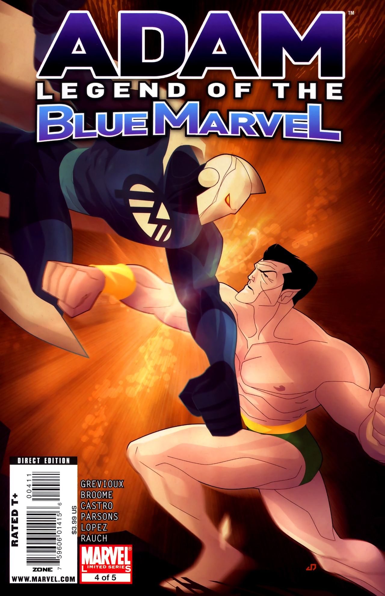 Adam: Legend of the Blue Marvel 4 Page 1