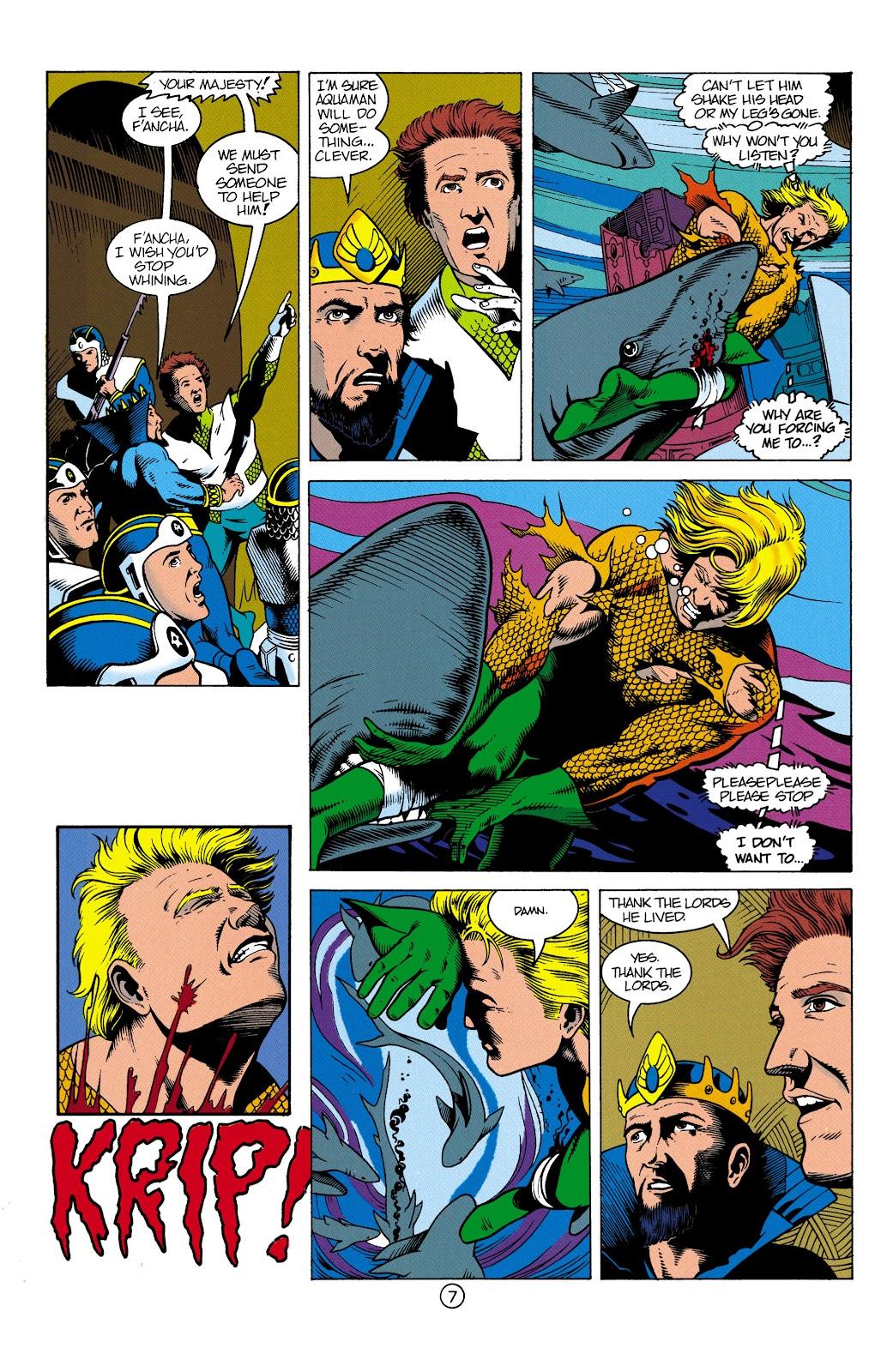 Aquaman (1991) Issue #3 #3 - English 8