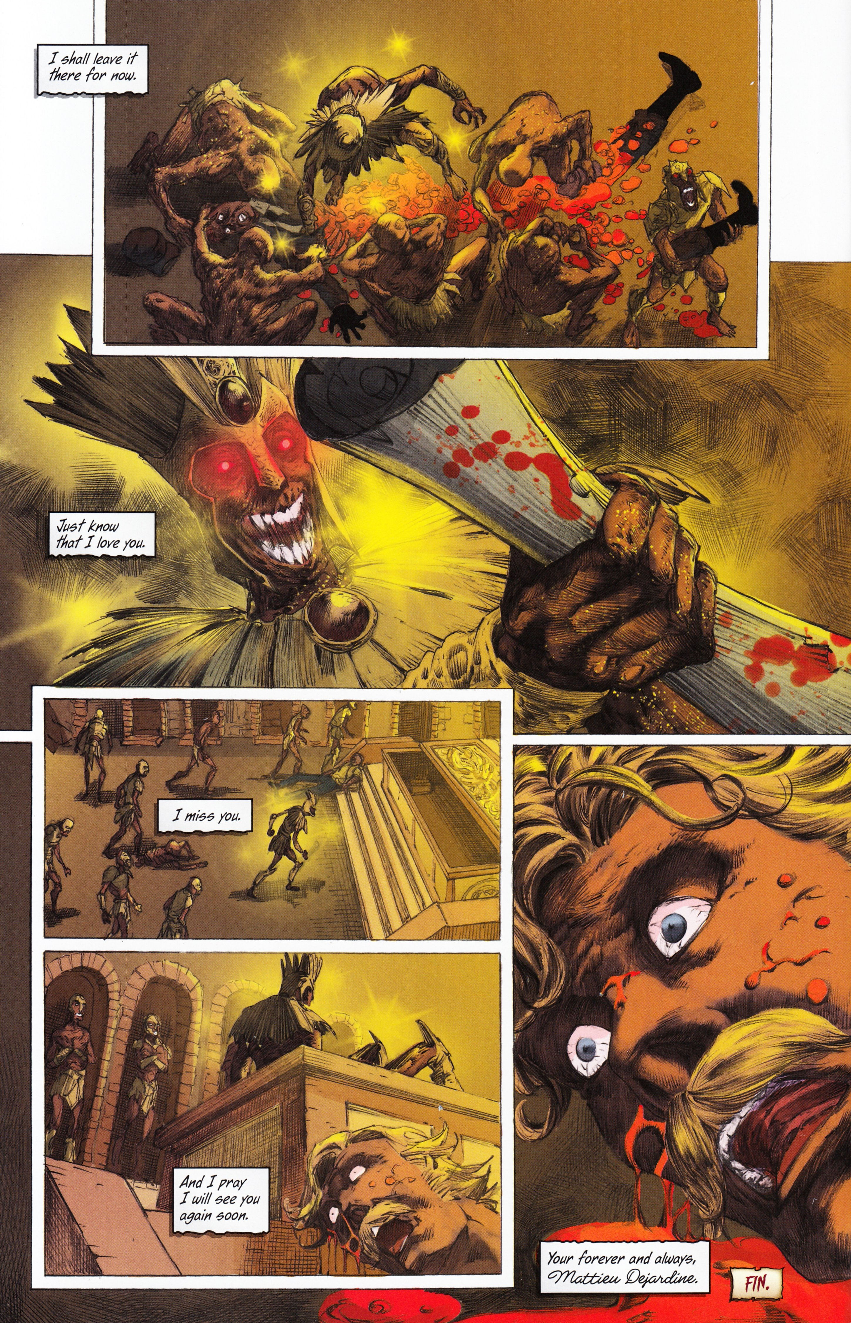 Read online Evil Dead 2: Tales of the Ex-Mortis comic -  Issue #3 - 38