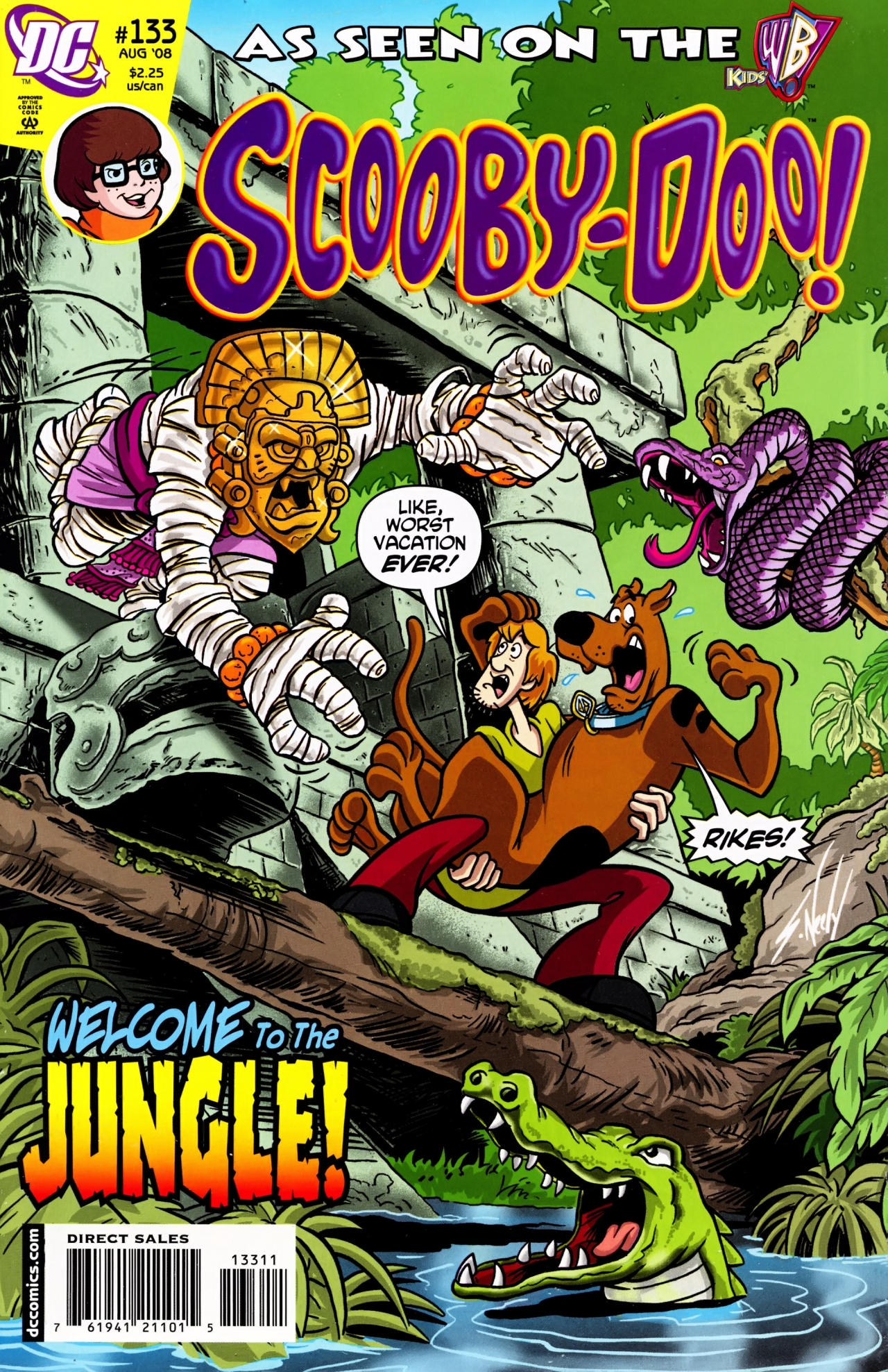 Read online Scooby-Doo (1997) comic -  Issue #133 - 1