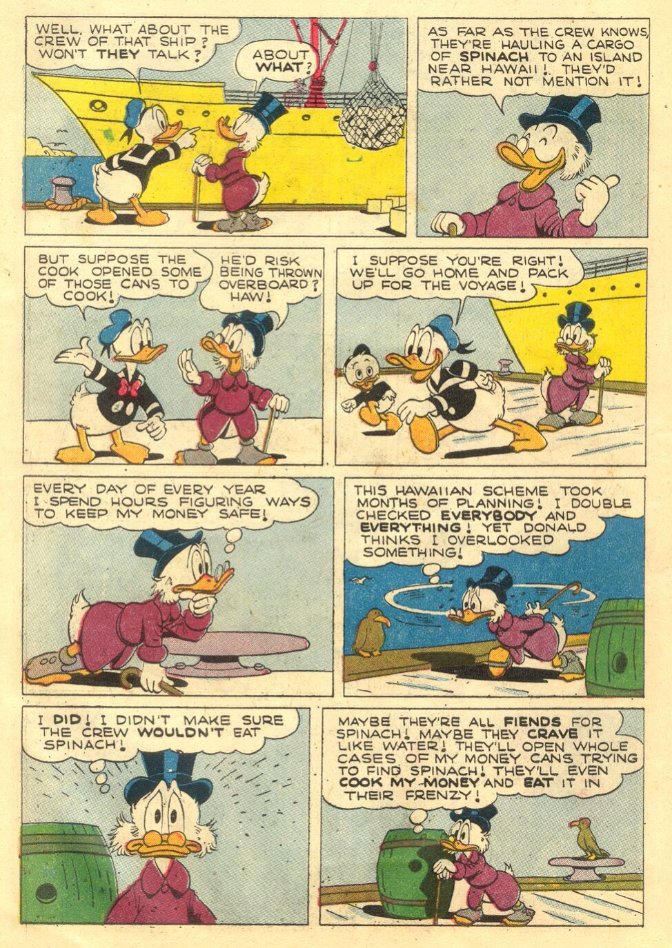 Uncle Scrooge (1953) Issue #4 #4 - English 6