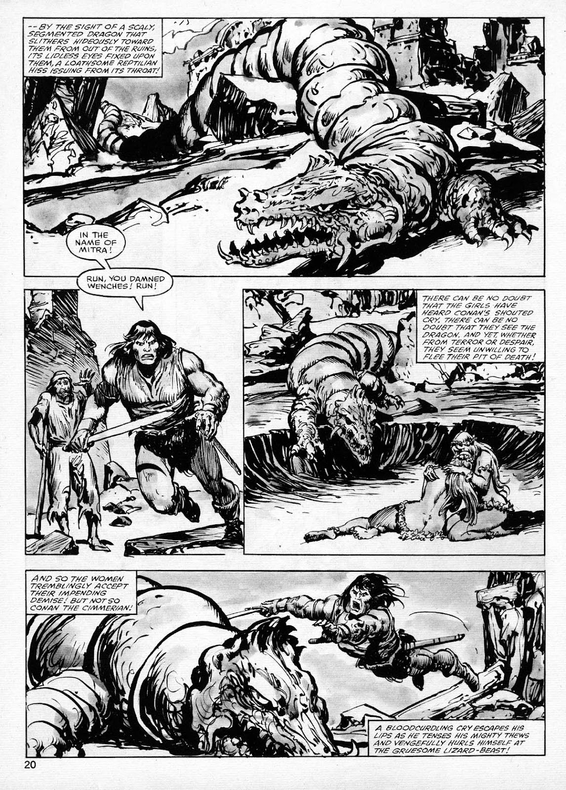 The Savage Sword Of Conan Issue #77 #78 - English 20