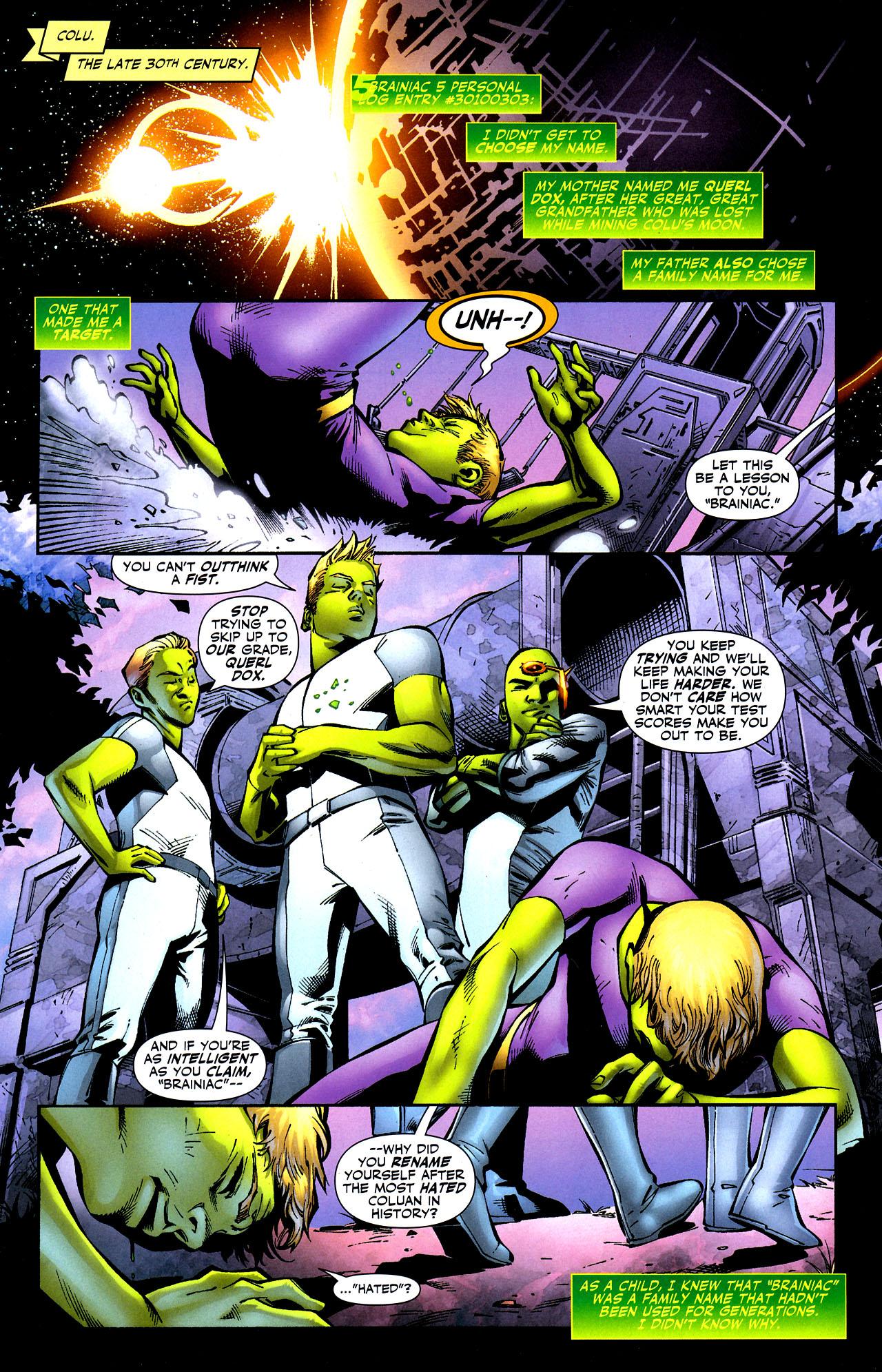 Read online Adventure Comics (2009) comic -  Issue #8 - 2