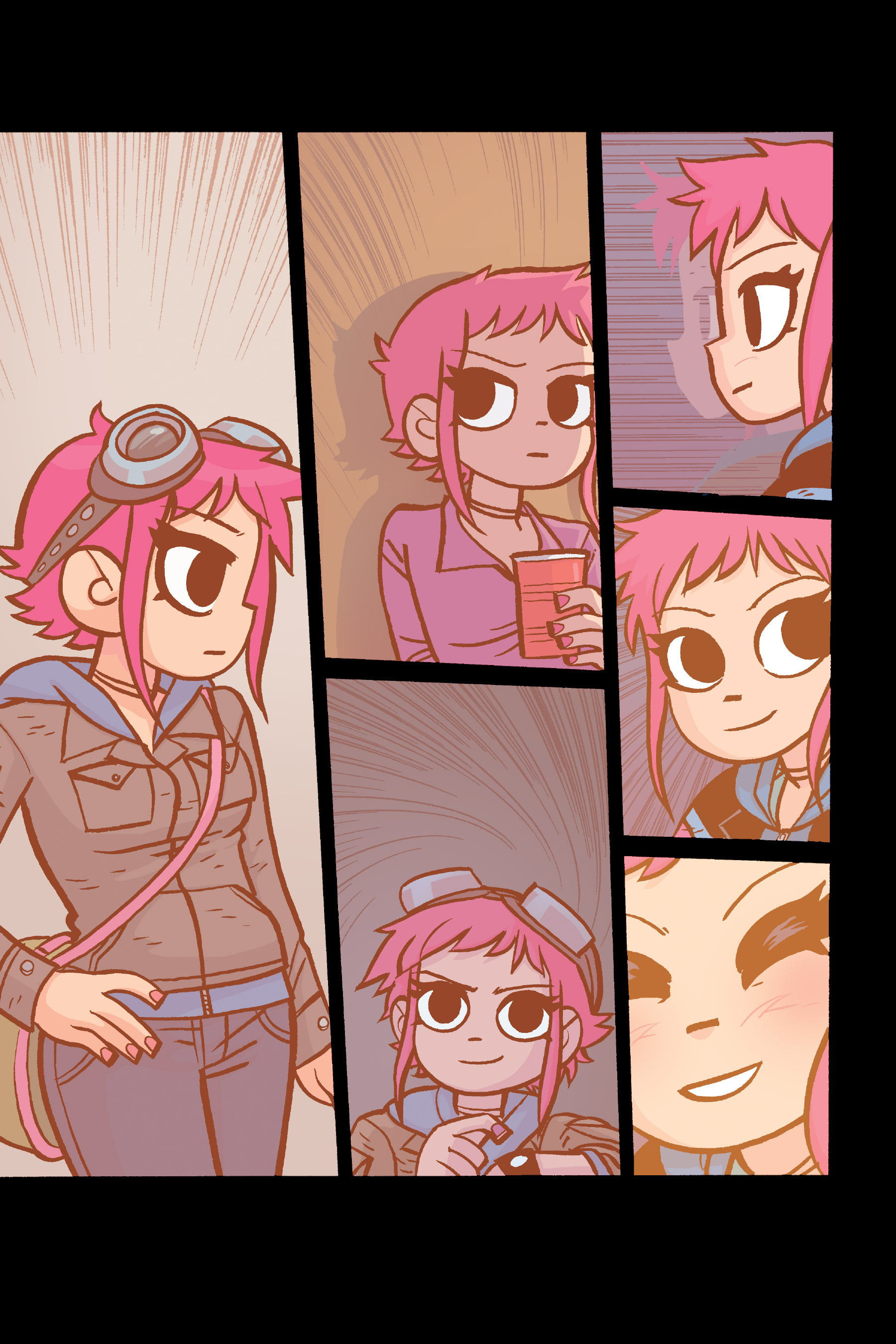 Read online Scott Pilgrim comic -  Issue #6 - 86
