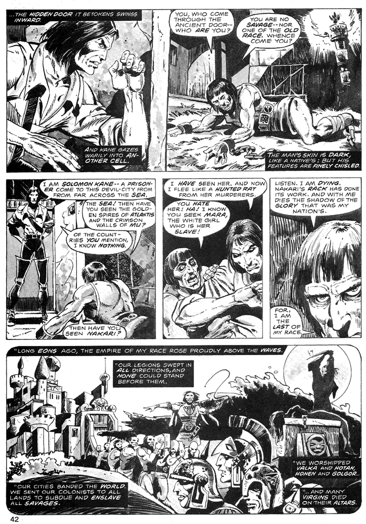 The Savage Sword Of Conan Issue #39 #40 - English 41