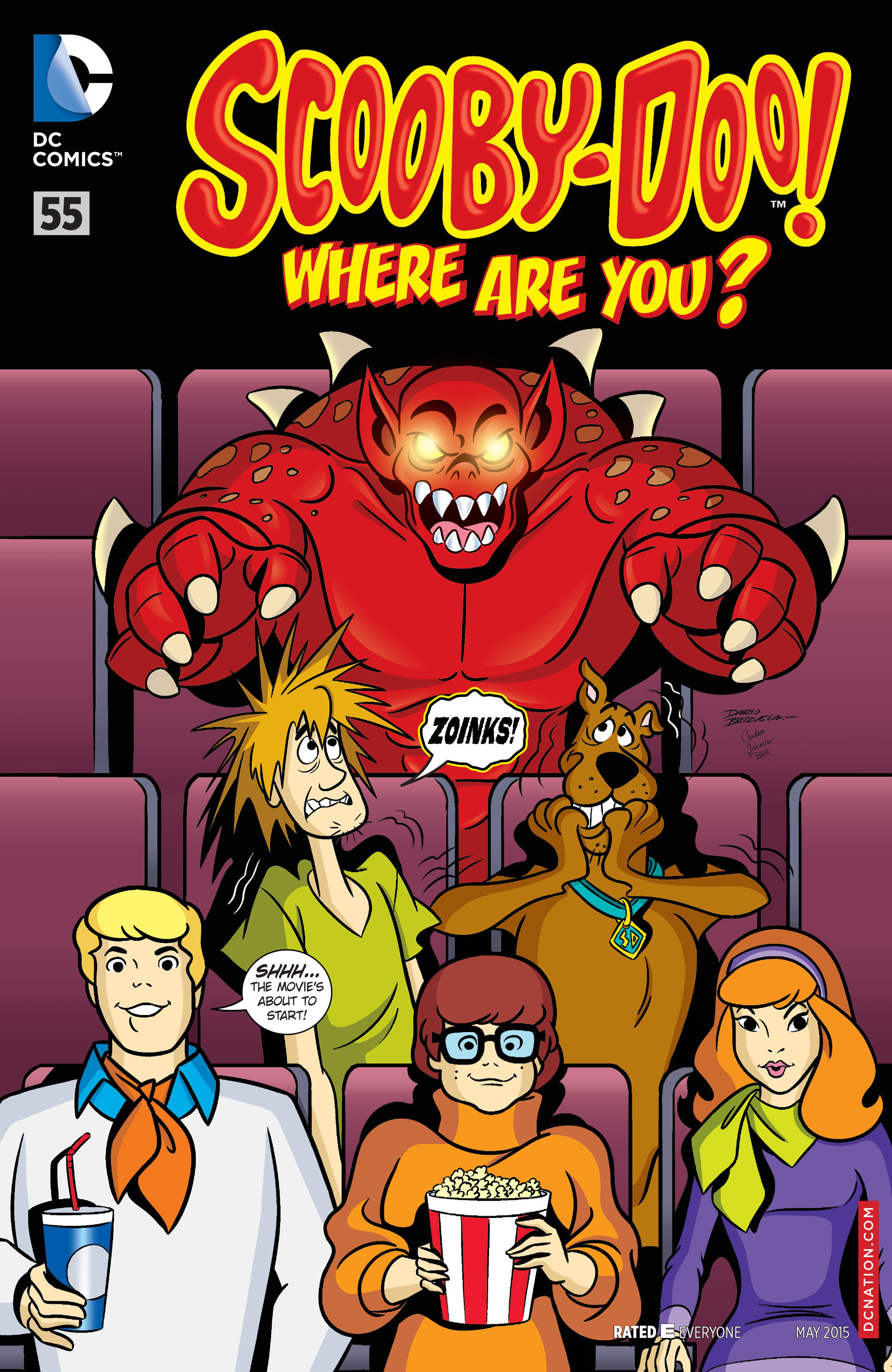 Read online Scooby-Doo: Where Are You? comic -  Issue #55 - 1