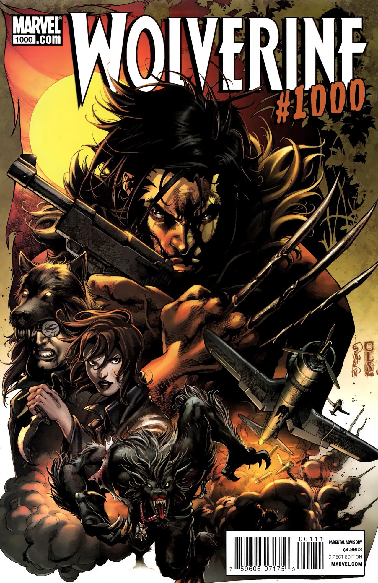 Wolverine (2010) 1000 Page 1