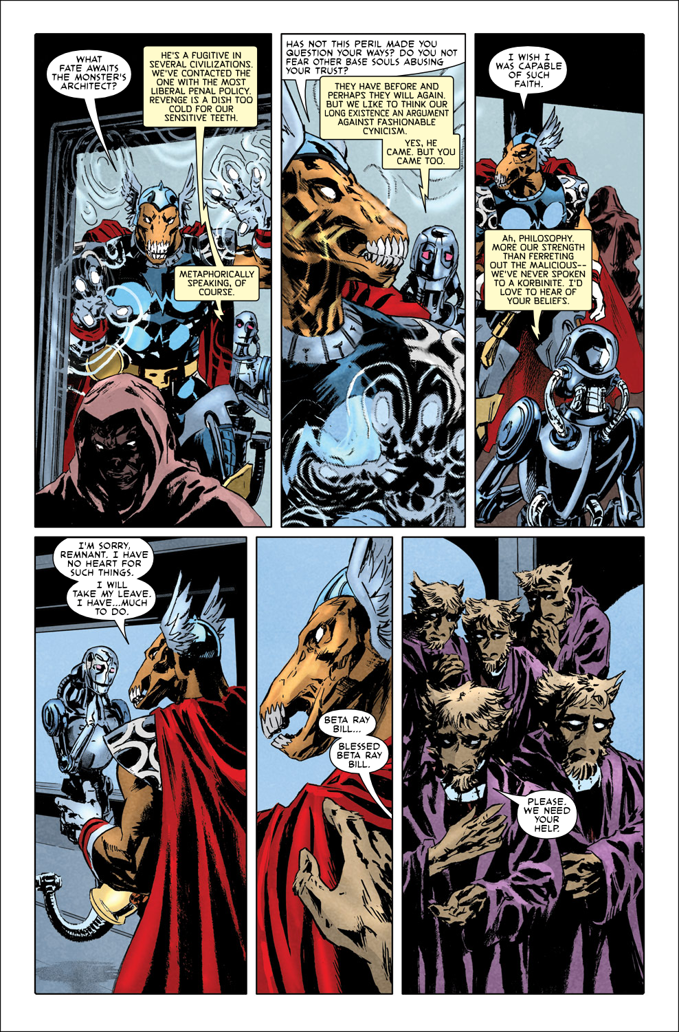 Read online Secret Invasion Aftermath: Beta Ray Bill - The Green of Eden comic -  Issue # Full - 7