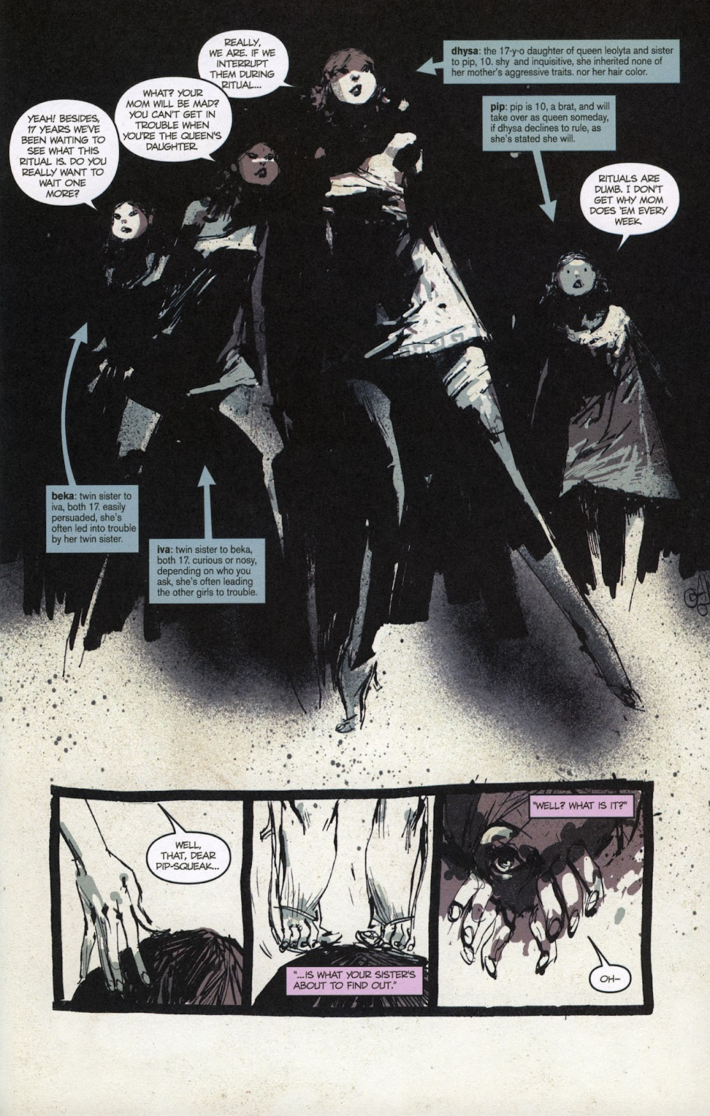 Zombies vs. Robots vs. Amazons Issue #1 Page 6