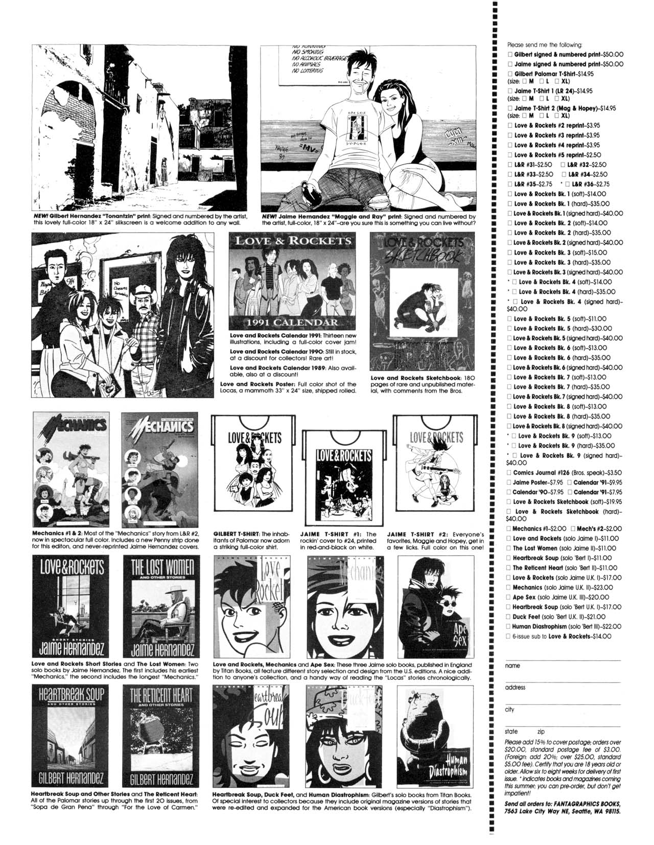 Love and Rockets (1982) #35 #35 - English 43
