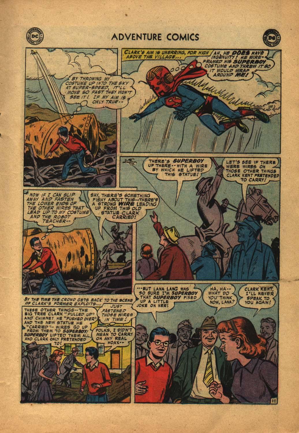 Read online Adventure Comics (1938) comic -  Issue #240 - 13