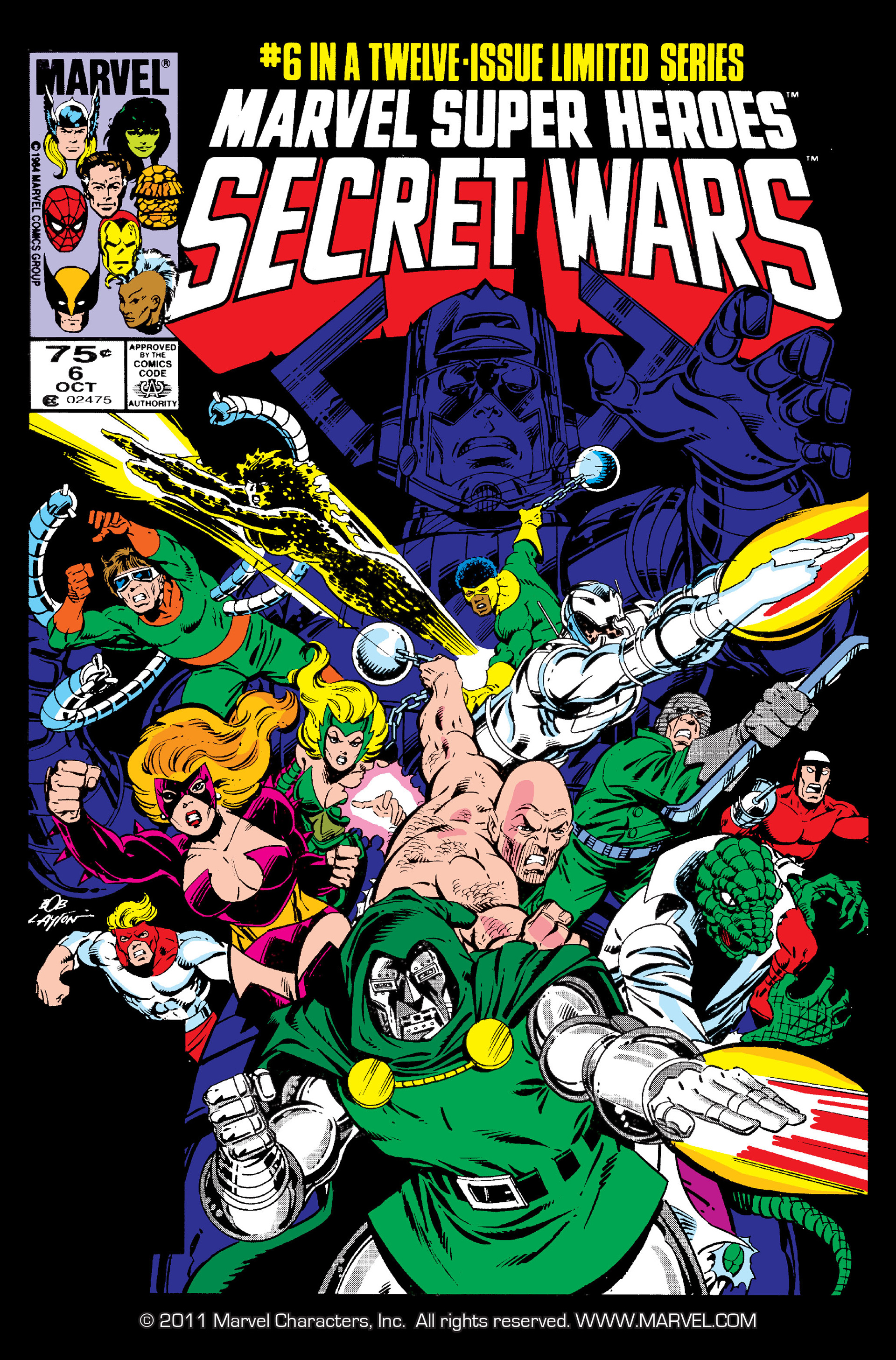 Marvel Super Heroes Secret Wars (1984) 6 Page 1