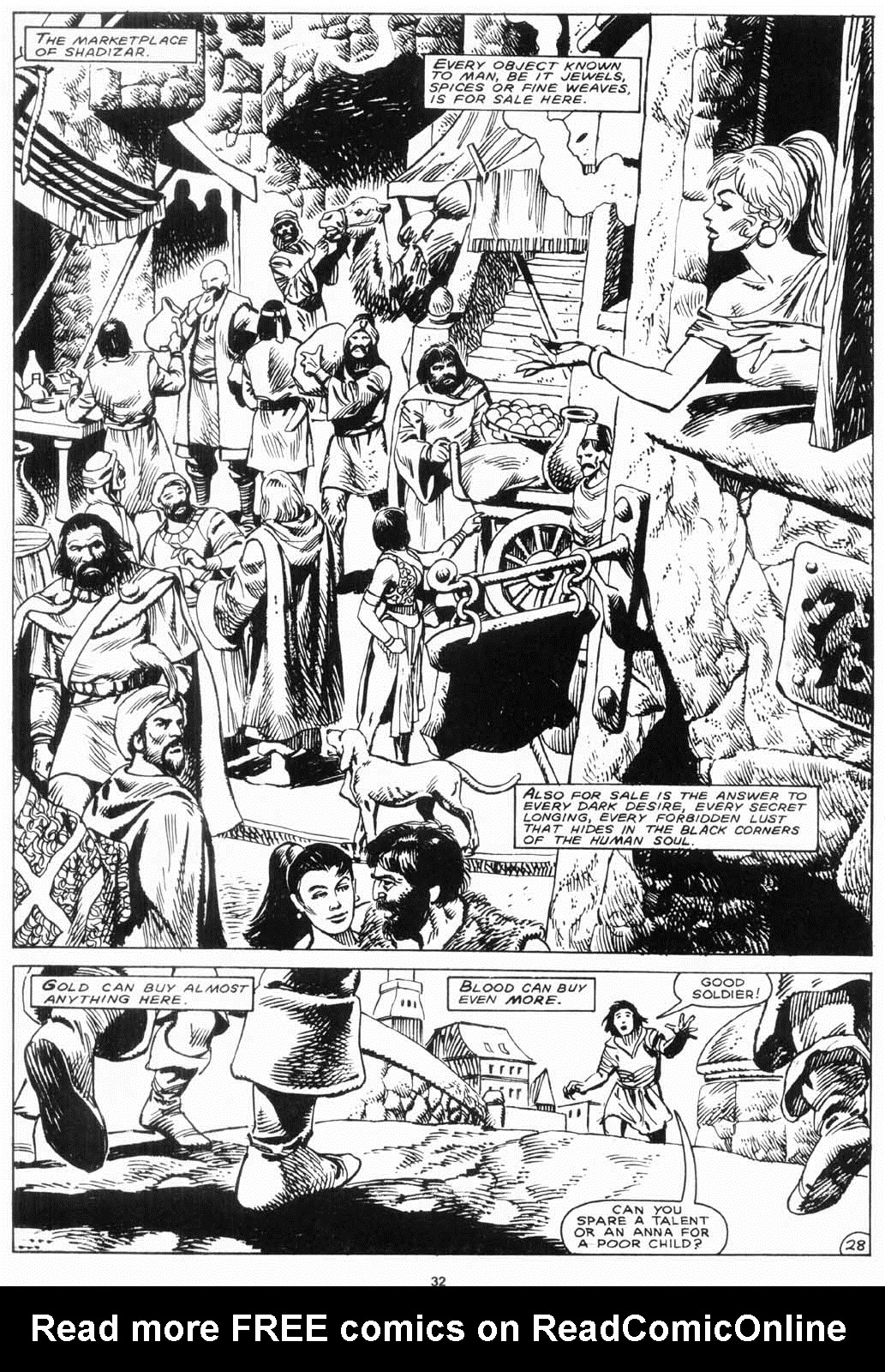 The Savage Sword Of Conan Issue #156 #157 - English 32