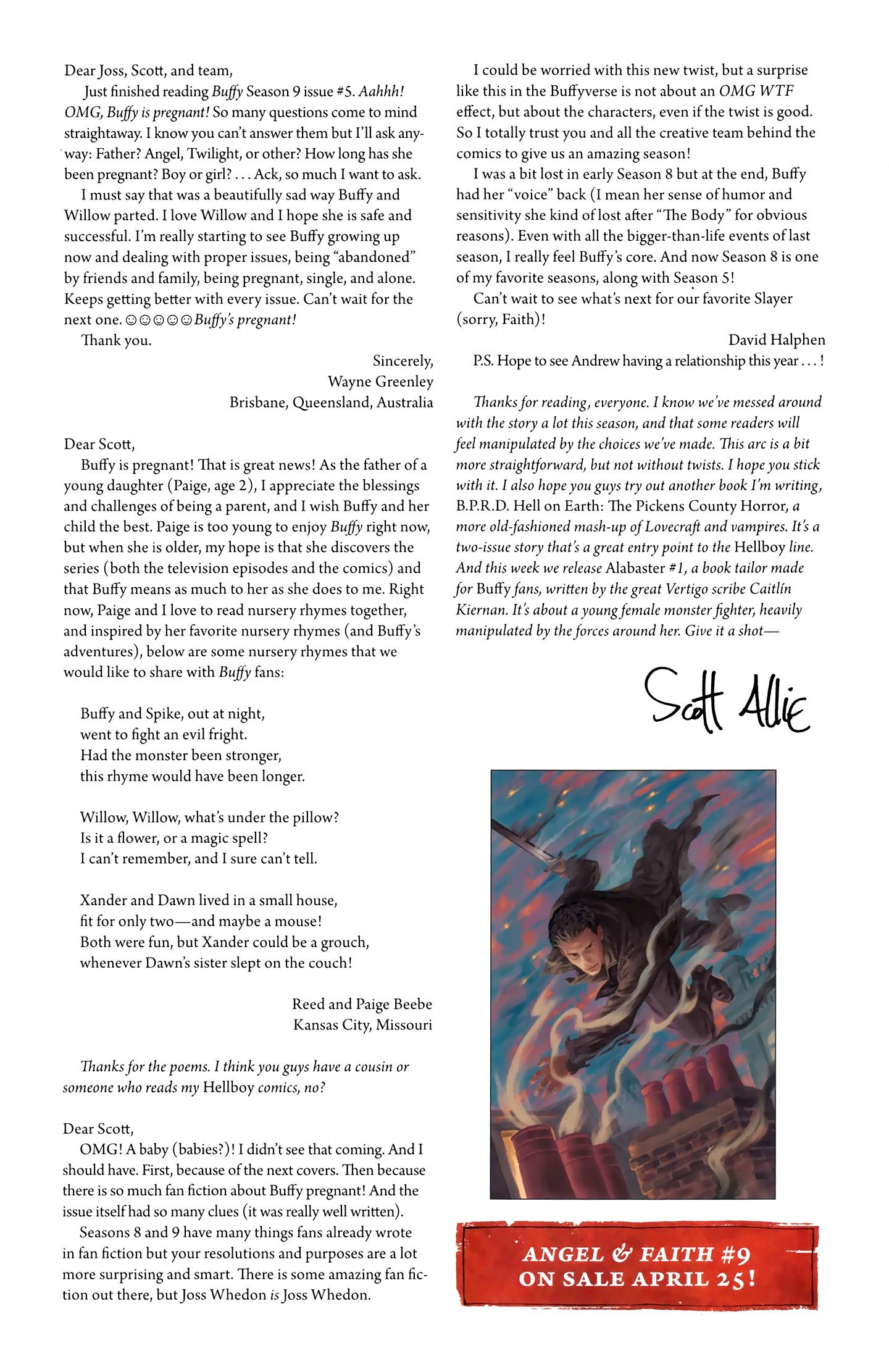 Read online Buffy the Vampire Slayer Season Nine comic -  Issue #8 - 27