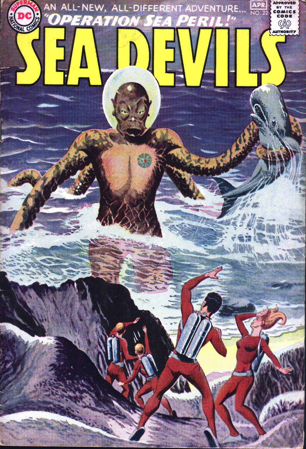 Read online Sea Devils comic -  Issue #22 - 1