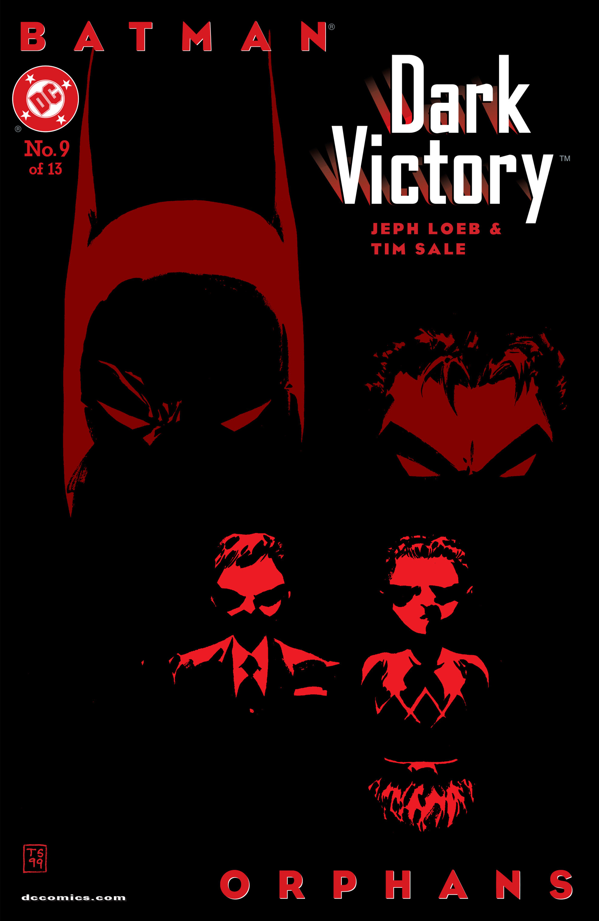 Batman: Dark Victory (1999) 9 Page 1