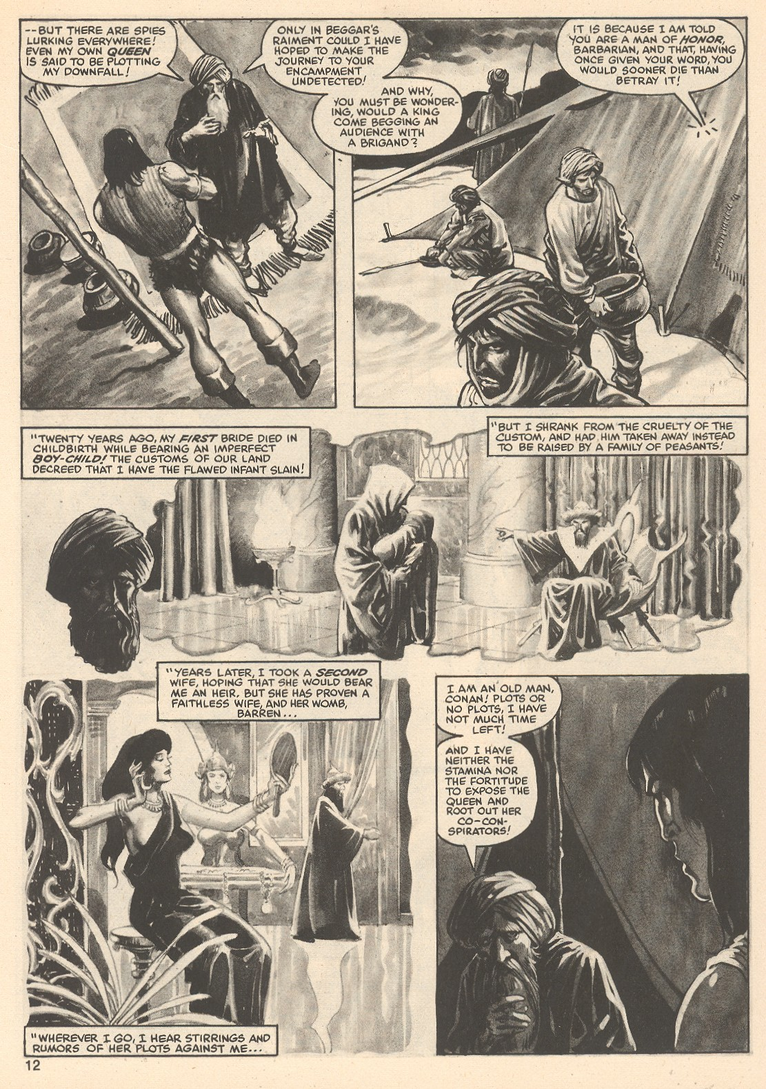 The Savage Sword Of Conan Issue #76 #77 - English 12