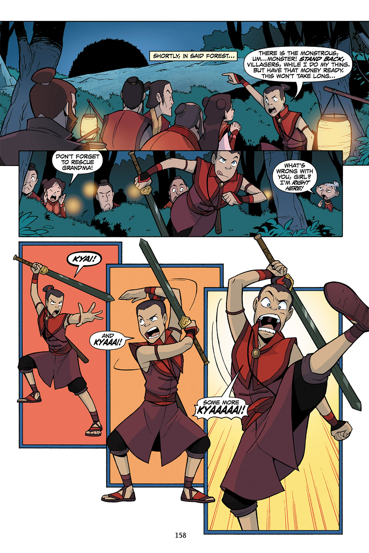 Nickelodeon Avatar: The Last Airbender - The Lost Adventures chap full pic 159
