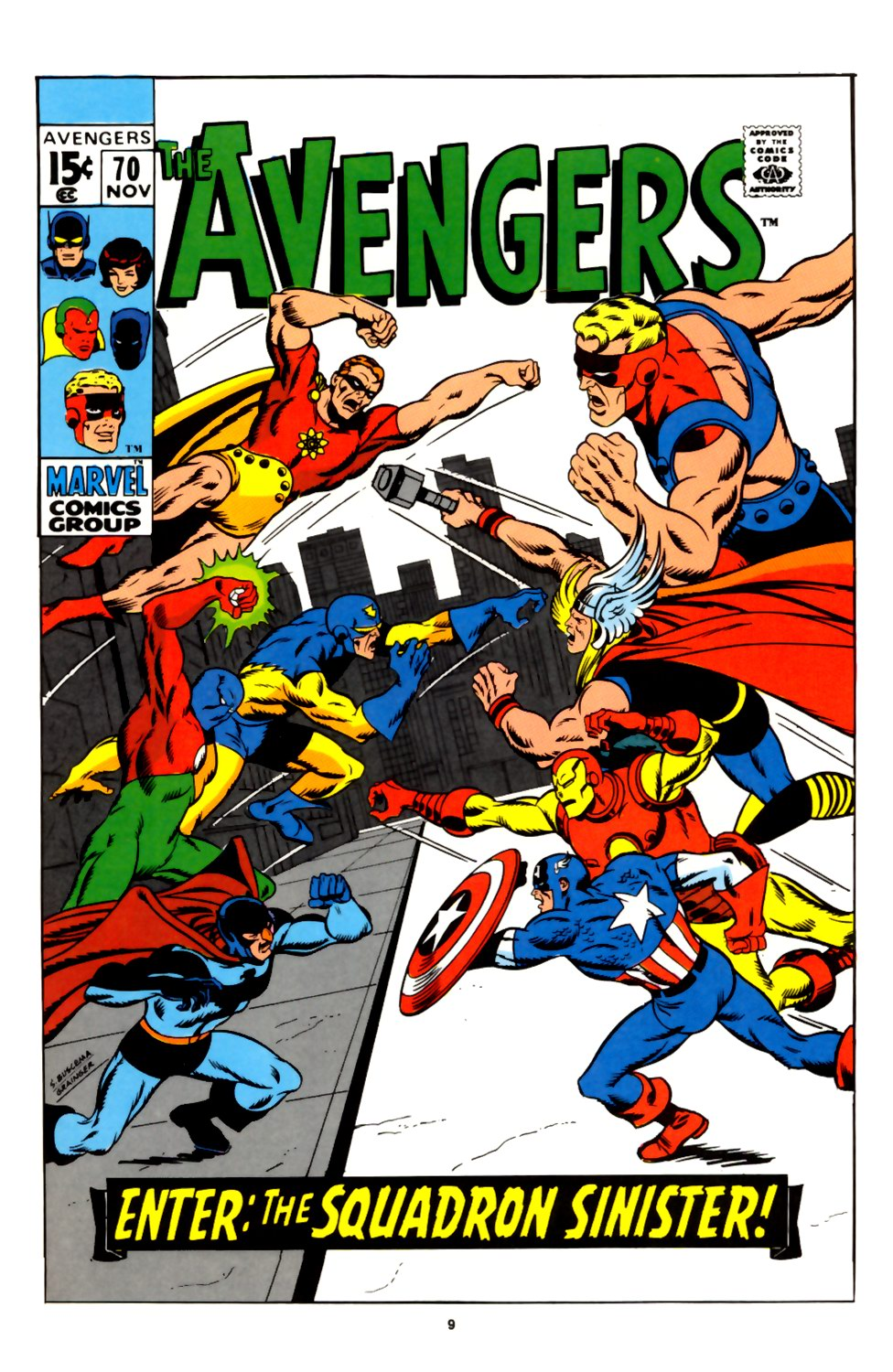 The Avengers (1963) 70 Page 1