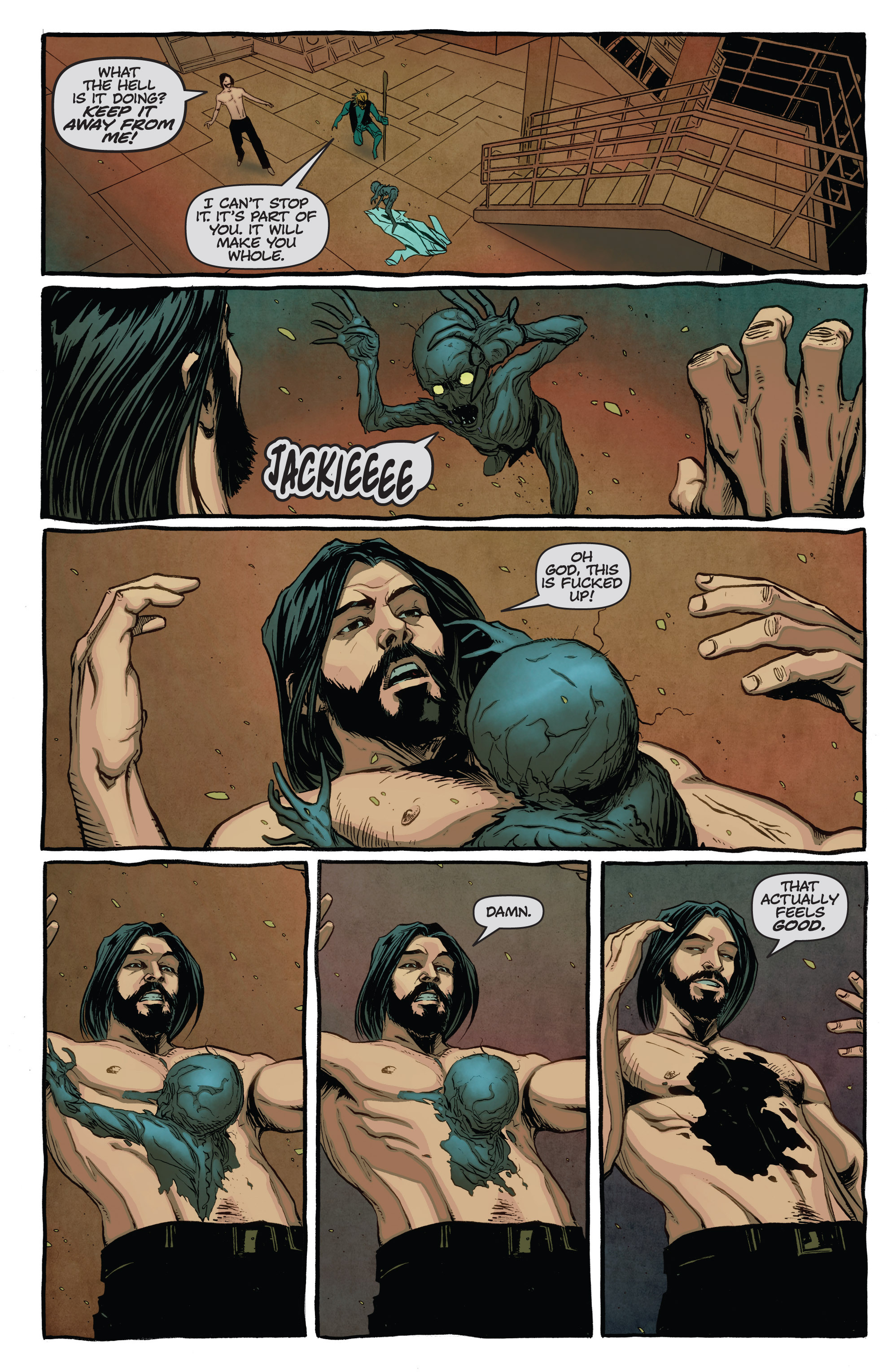 Read online The Darkness (2007) comic -  Issue #115 - 16