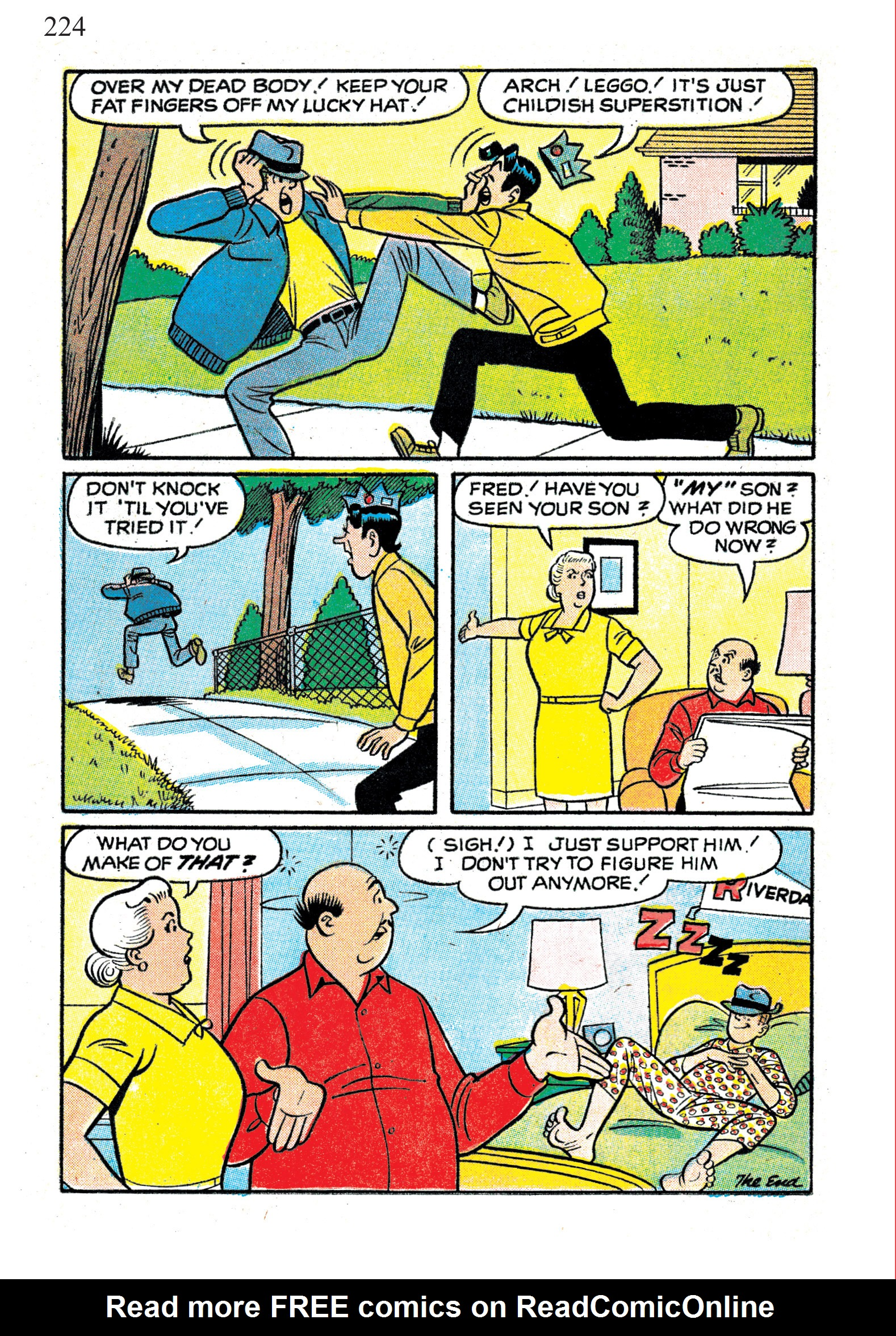 Read online The Best of Archie Comics comic -  Issue # TPB 1 (Part 1) - 220
