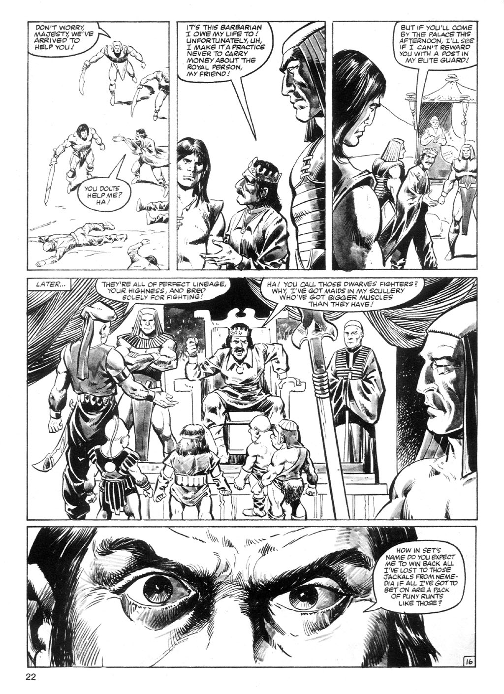 The Savage Sword Of Conan Issue #94 #95 - English 21