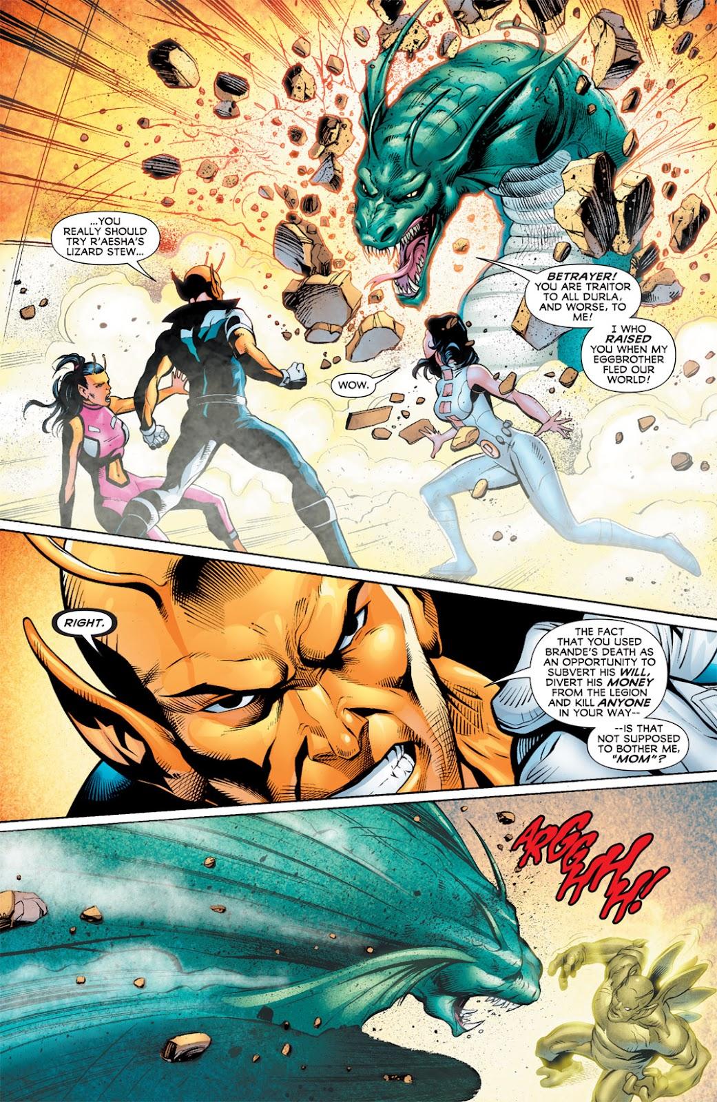Legion of Super-Heroes (2010) Issue #10 #11 - English 14