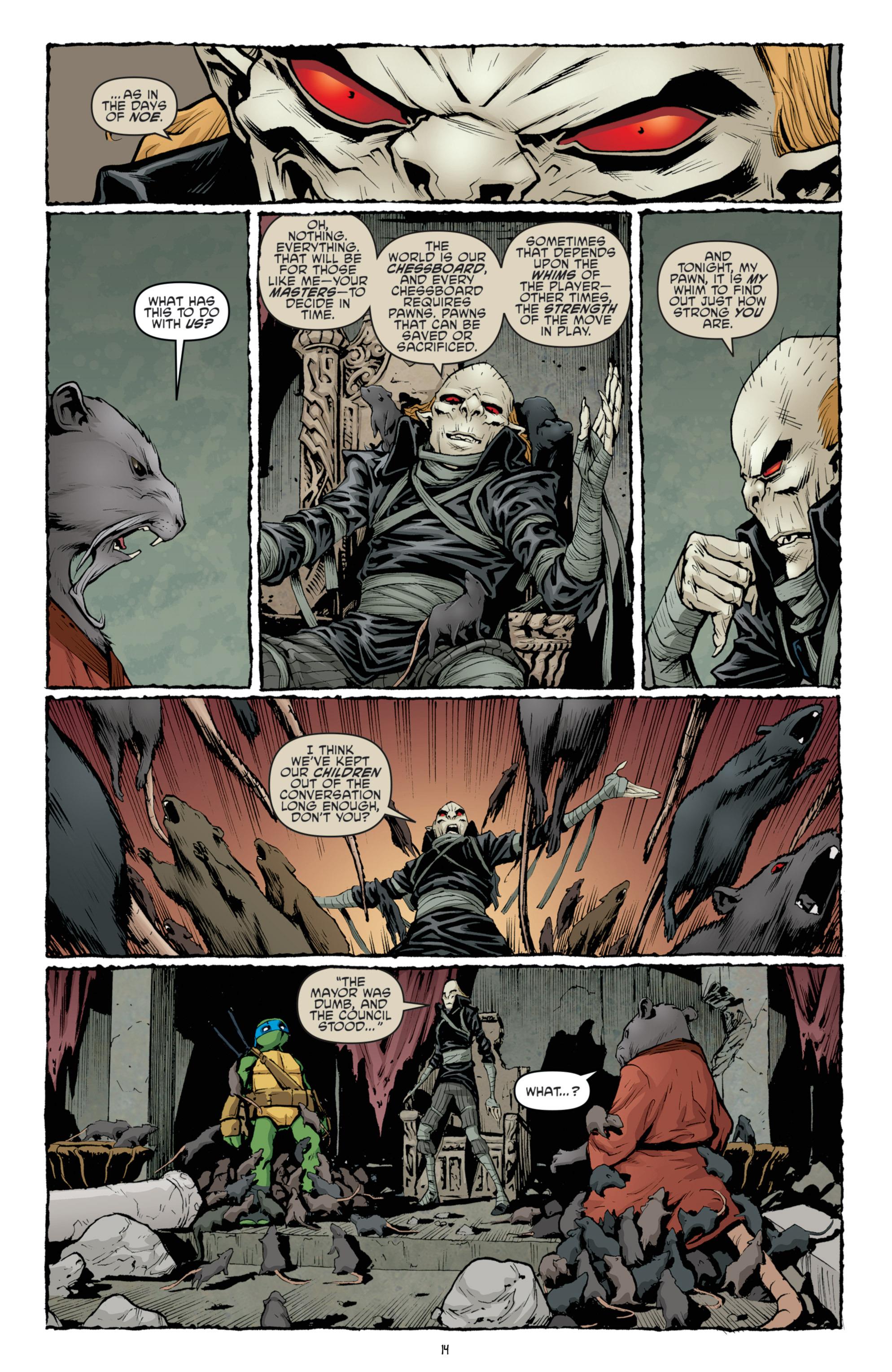 Read online Teenage Mutant Ninja Turtles (2011) comic -  Issue #36 - 17
