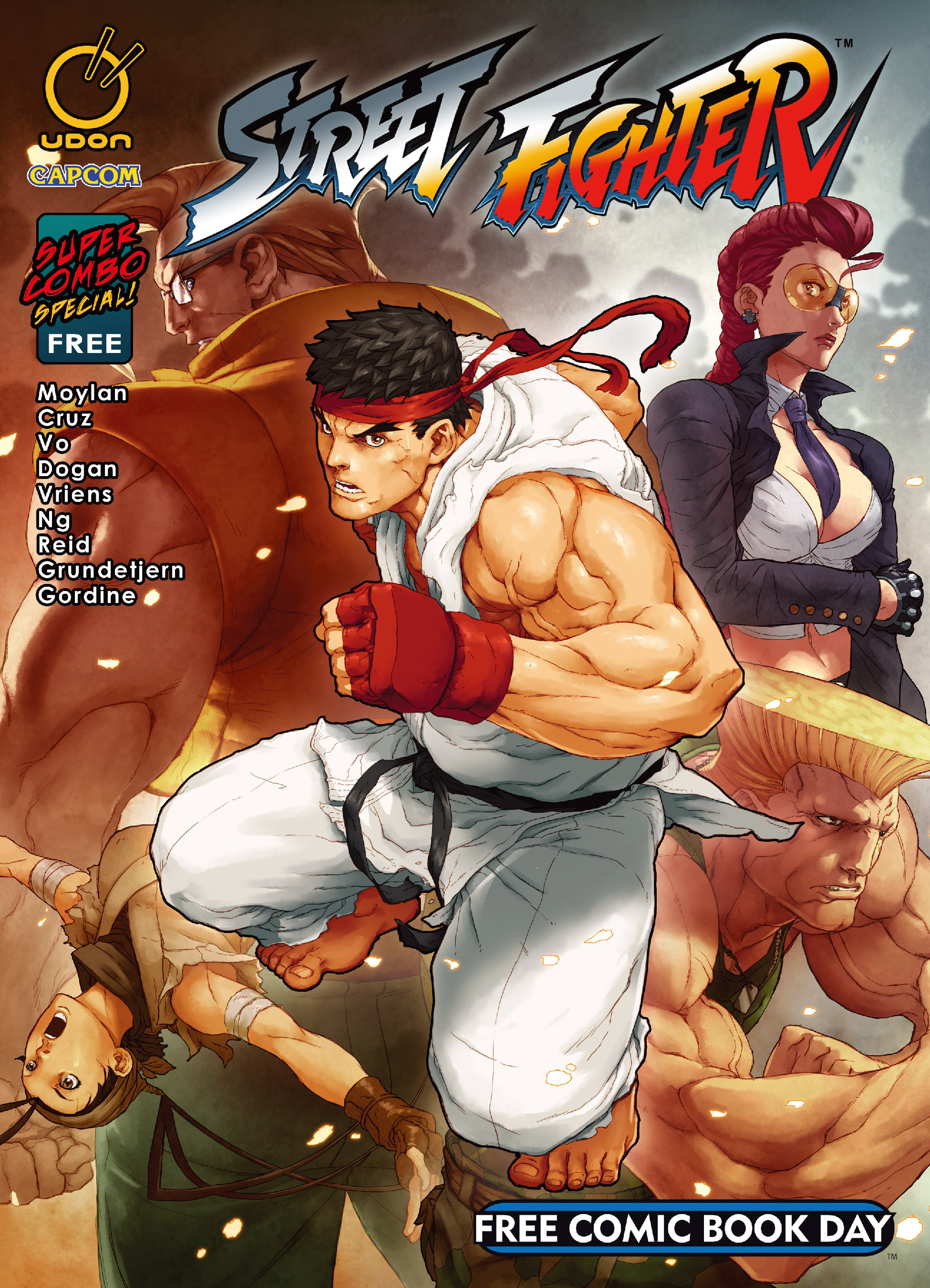 Street Fighter Super Combo Special  issue Full - Page 1