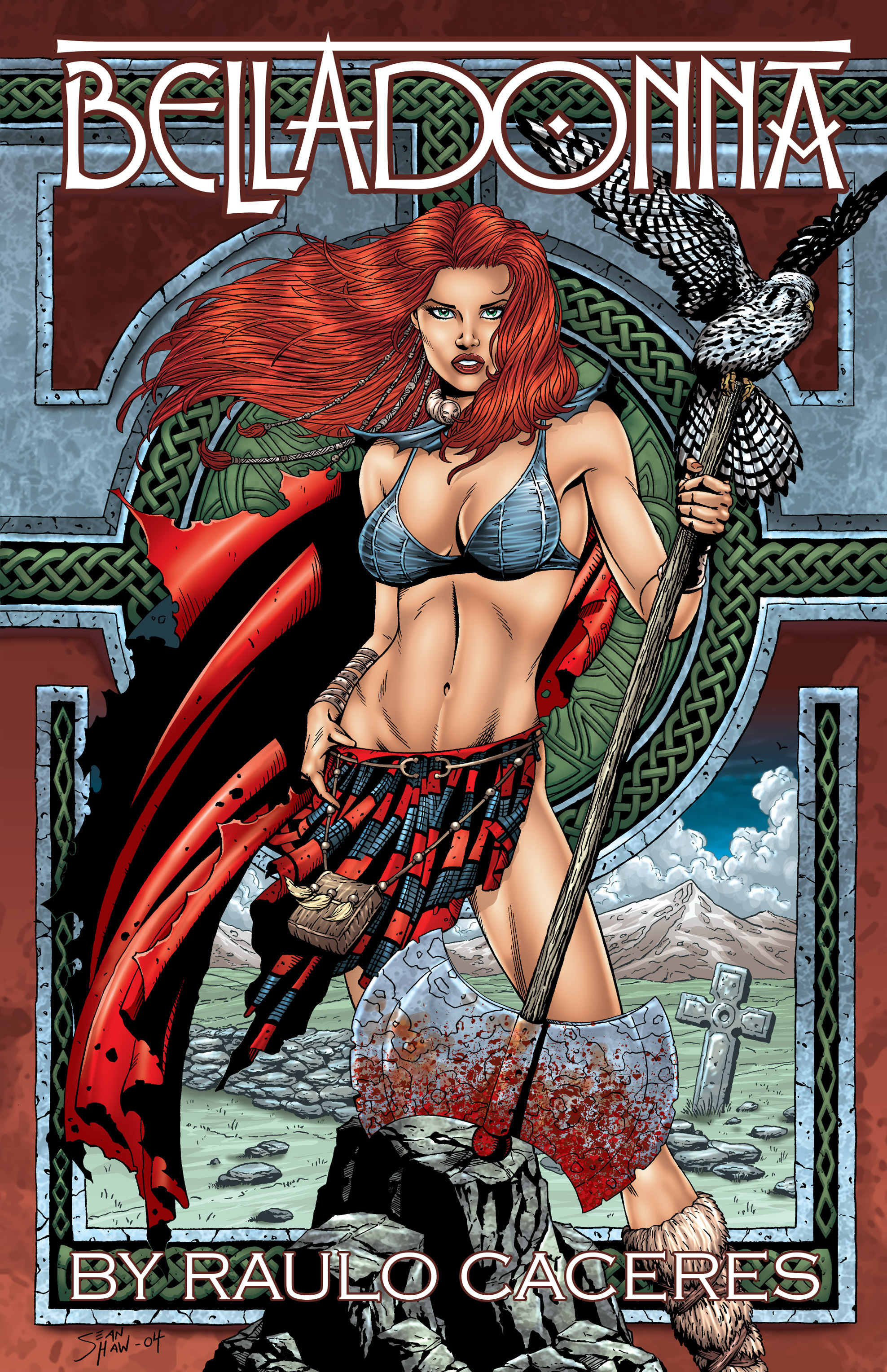 Read online Belladonna comic -  Issue #0 - 24