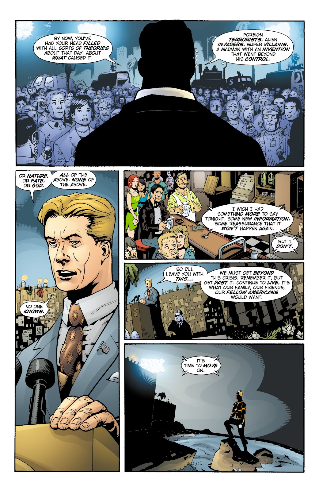 Aquaman (2003) Issue #15 #15 - English 12
