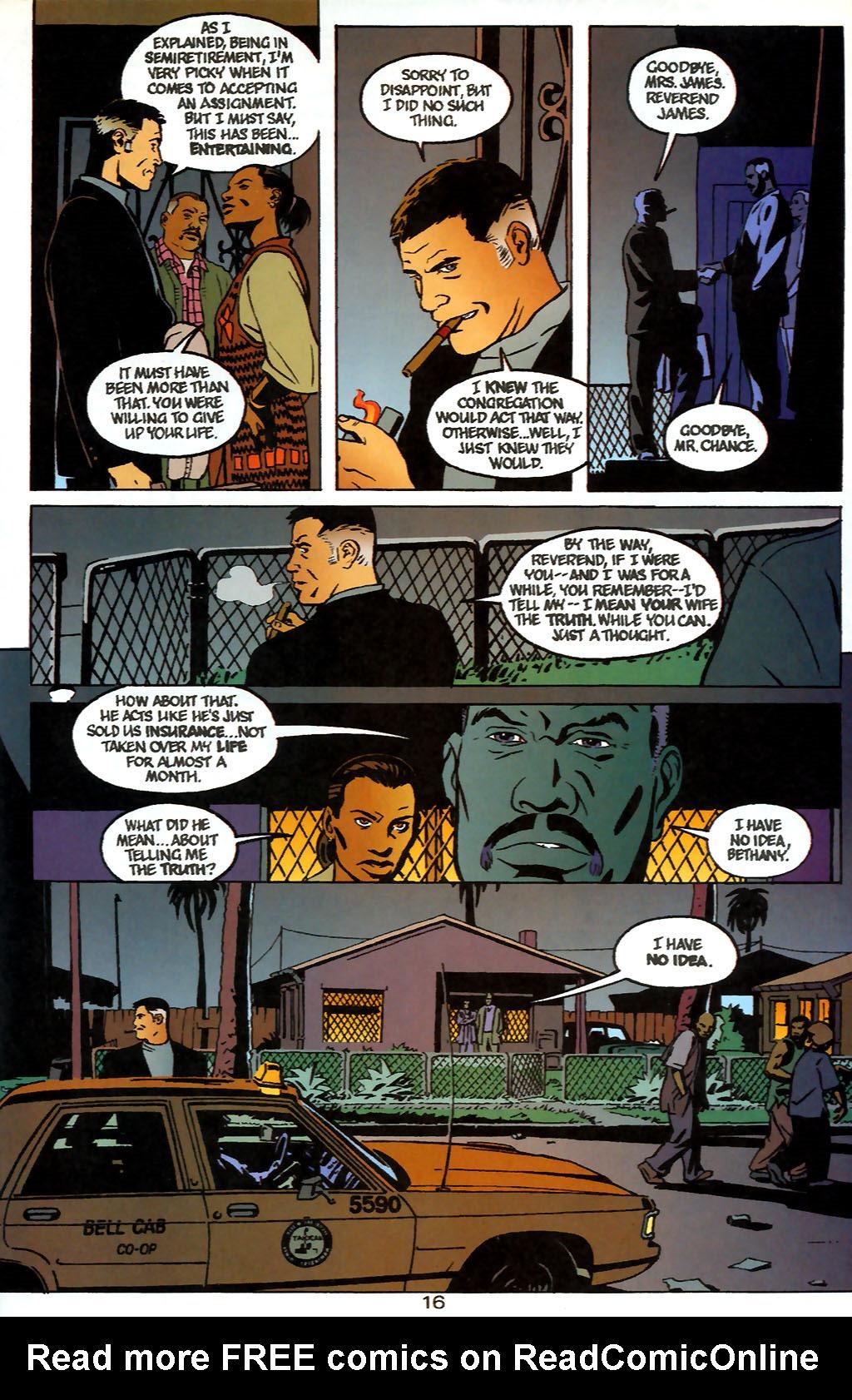 Human Target (1999) 1 Page 16