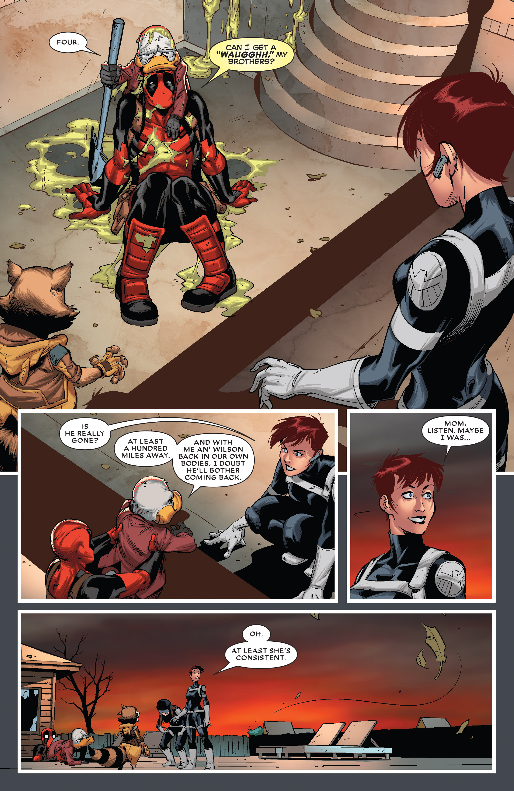 Read online Deadpool The Duck comic -  Issue #5 - 18