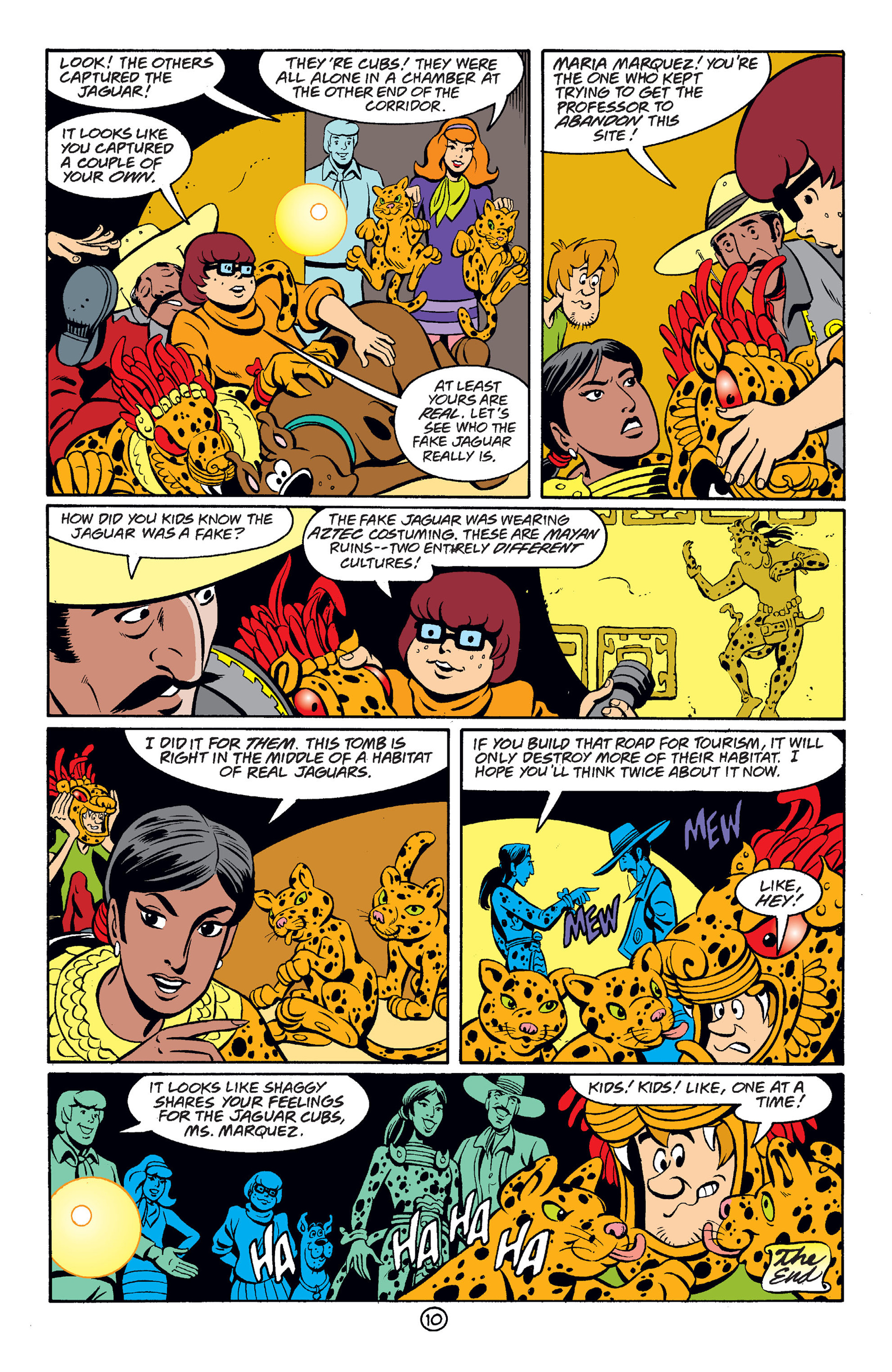 Read online Scooby-Doo (1997) comic -  Issue #38 - 11